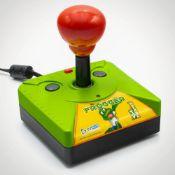 (14F) 5x MSI Items. 4x Frogger Plug In Console. 1x Real Feel Alien Blasters VR Simulator. (All Unit