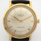 Zenith / 2600 - Gentlemen's Gold/Steel Wrist Watch
