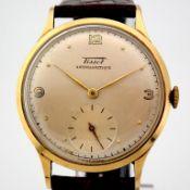Tissot / Antimagnetique Classic 14K - Gentlemen's Yellow gold Wrist Watch