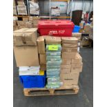 Pallet of ex Wilkos stock, double ring binders, albums, bike stickers and more. RRP:£2000