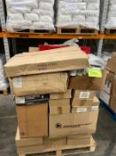 Pallet of filing, stationary, paints rollers moulds ect. RRP:1500+. Unmanifested Pallet.