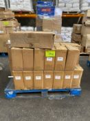 Pallet of shower heads, stationary, filing supplies ect RRP:1500+