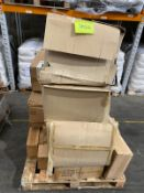 Pallet of Artist Easel Pads, Baby Harnesses, Popper Pockets, etc. Unmanifested Mixed RRP:£2000+