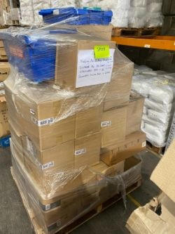 Pallet of Asstd Office Stationery, Document Wallets, Binders, Mouse Mats etc. RRP:£3000+