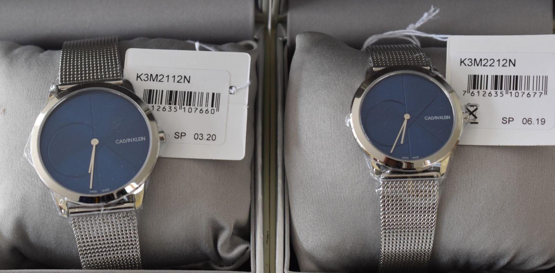 Calvin klein His/Her K3M2112N/K3M2212N Watches - Image 2 of 2
