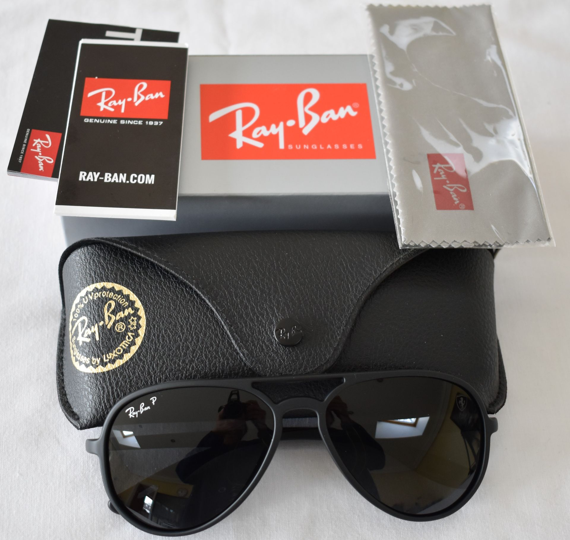 Ray Ban Sunglasses(Ferrari) ORB4320CH 622/87 *3P