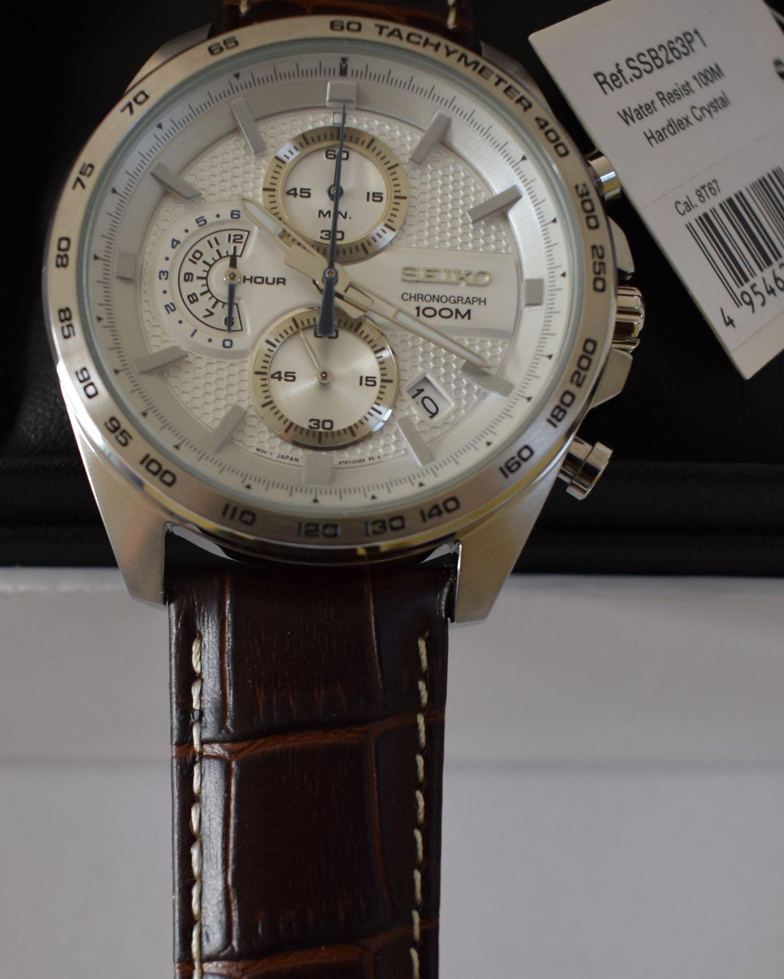 Seiko Men's Watch SSB263P1