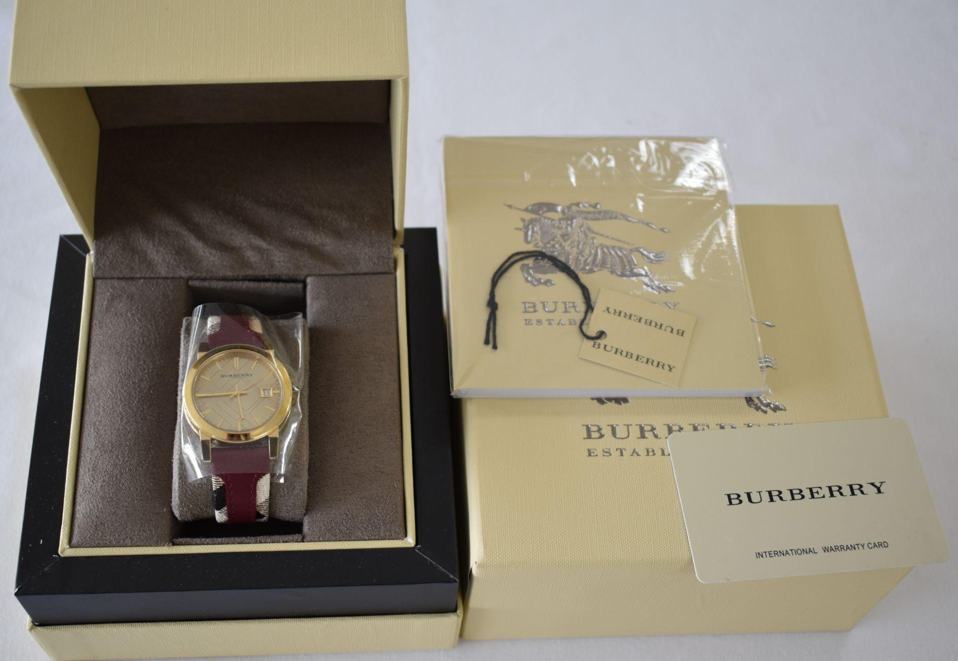 Burberry BU9111 Ladies Watch