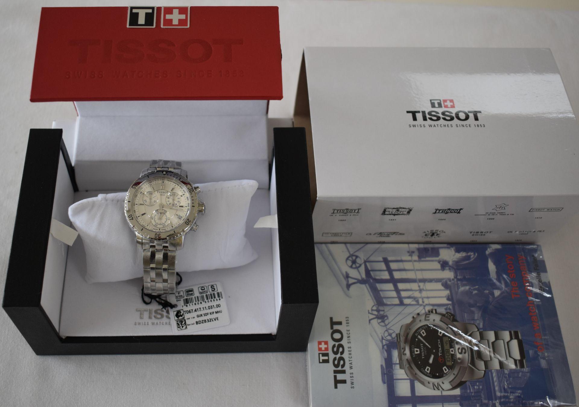 Tissot Men's Watch TO67.417.11.31.00 - Image 3 of 3