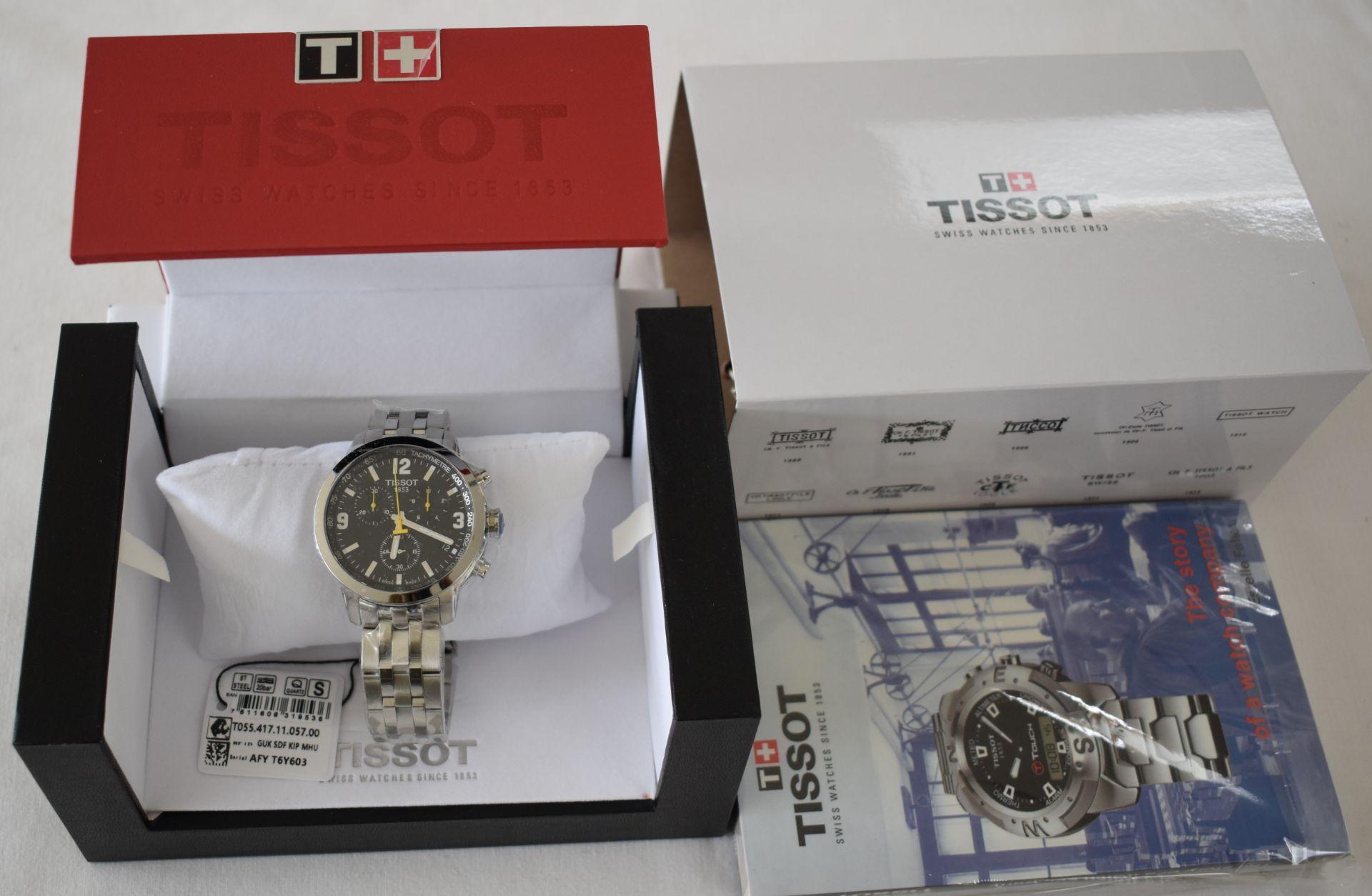 Tissot Men's Watch TO55.417.11.057.00 - Image 3 of 3