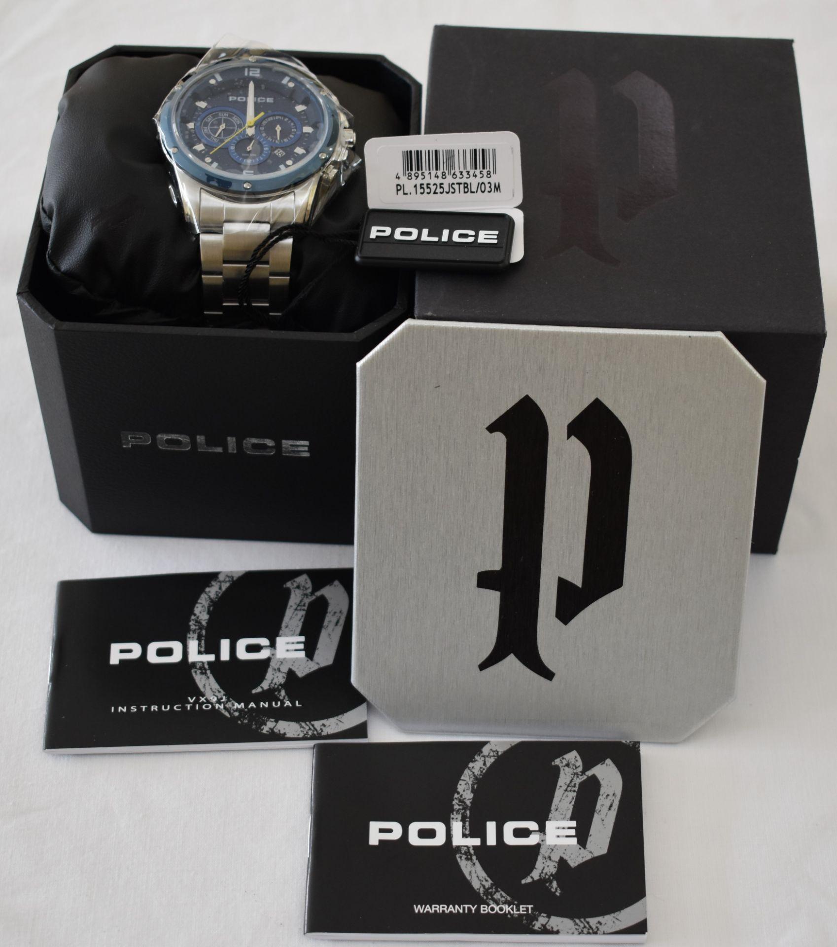 Police PL.15525JSTBL/03M Men's Watch