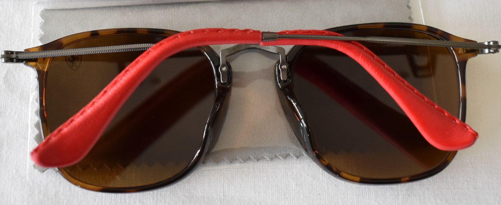 Ray Ban Sunglasses (Ferrari)ORB2448N 710 *3N - Image 3 of 4