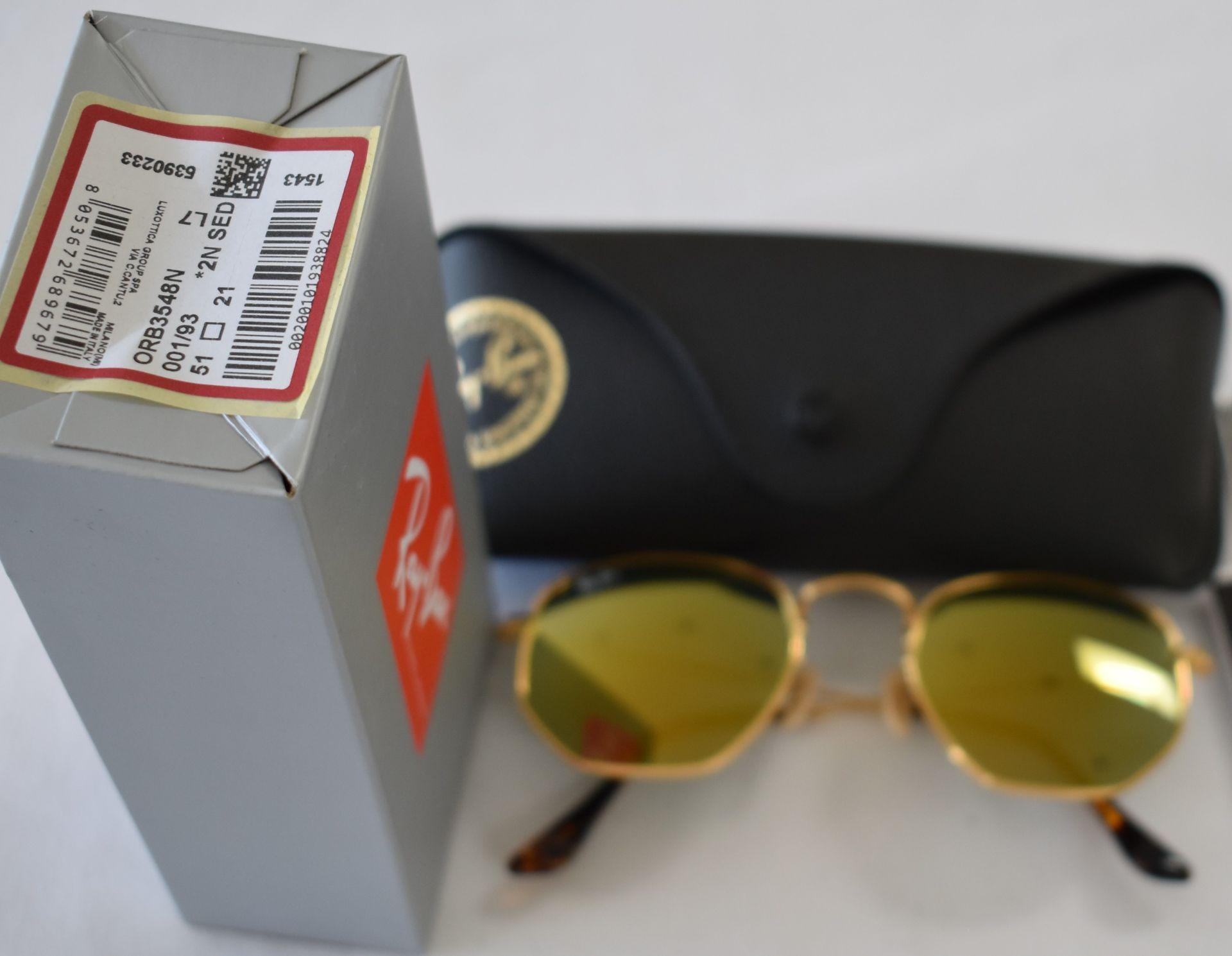 Ray Ban Sunglasses ORB3548N 001/93 *2N - Image 2 of 2