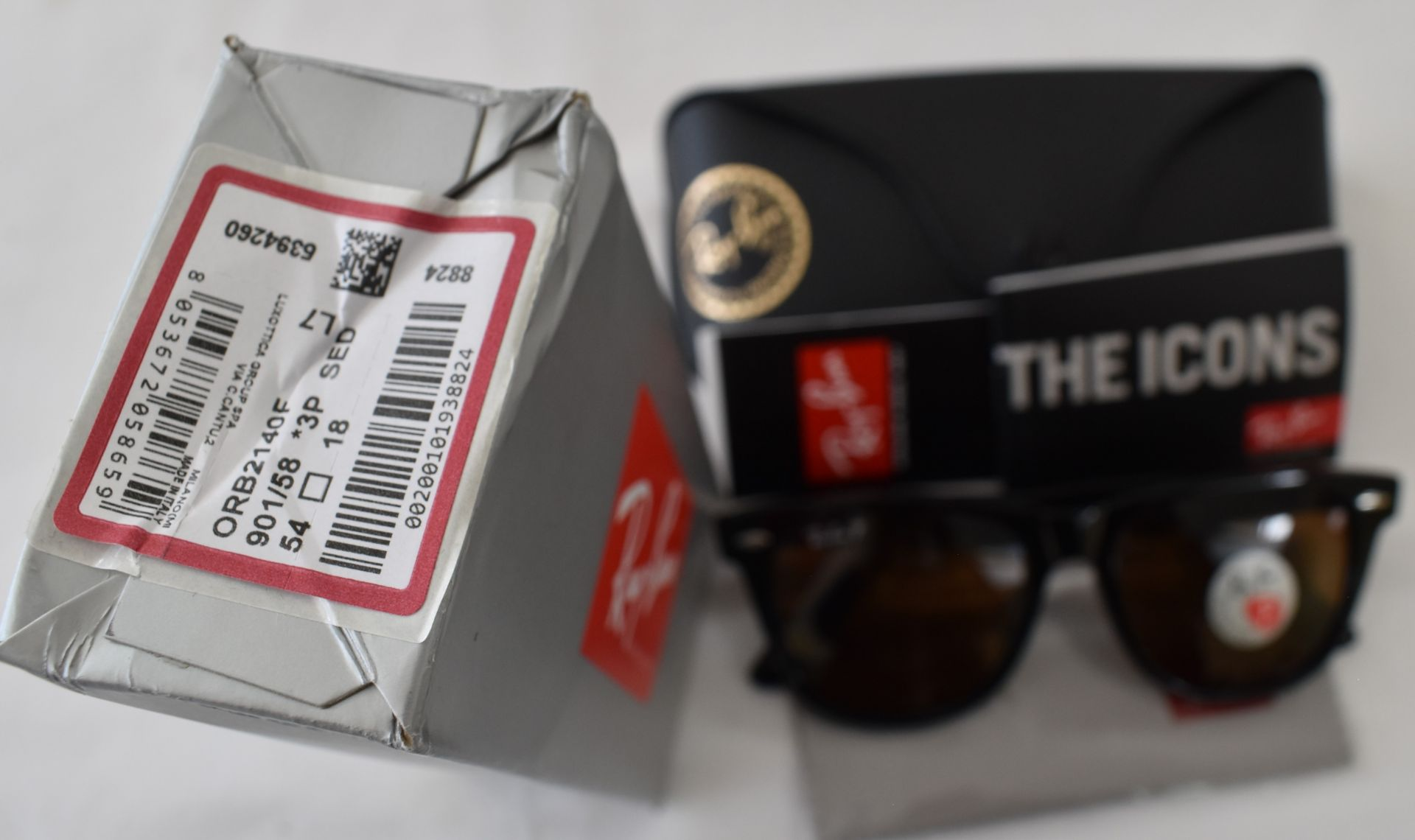 Ray Ban Sunglasses ORB2140F 901/58 *3P - Image 3 of 3