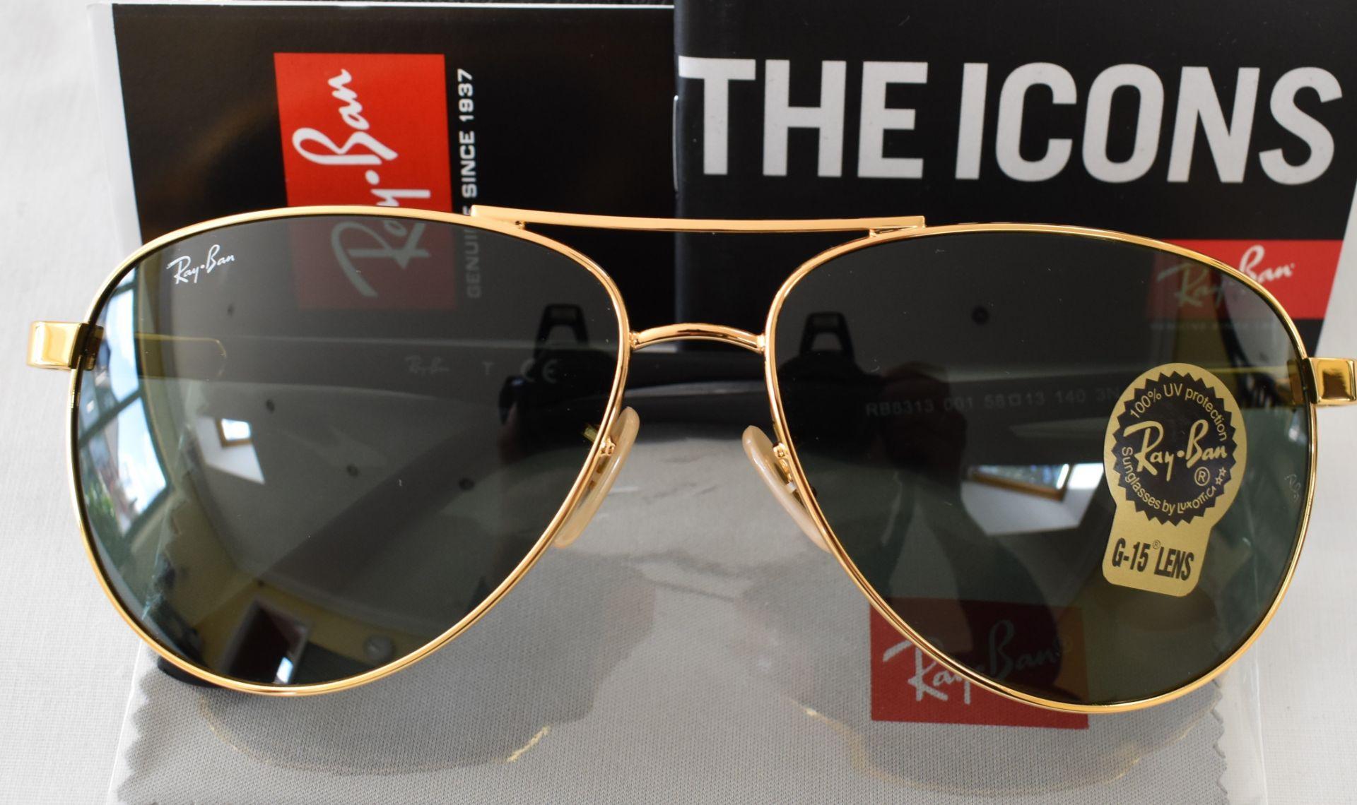 Ray Ban Sunglasses ORB8313 001 *2N - Image 2 of 3