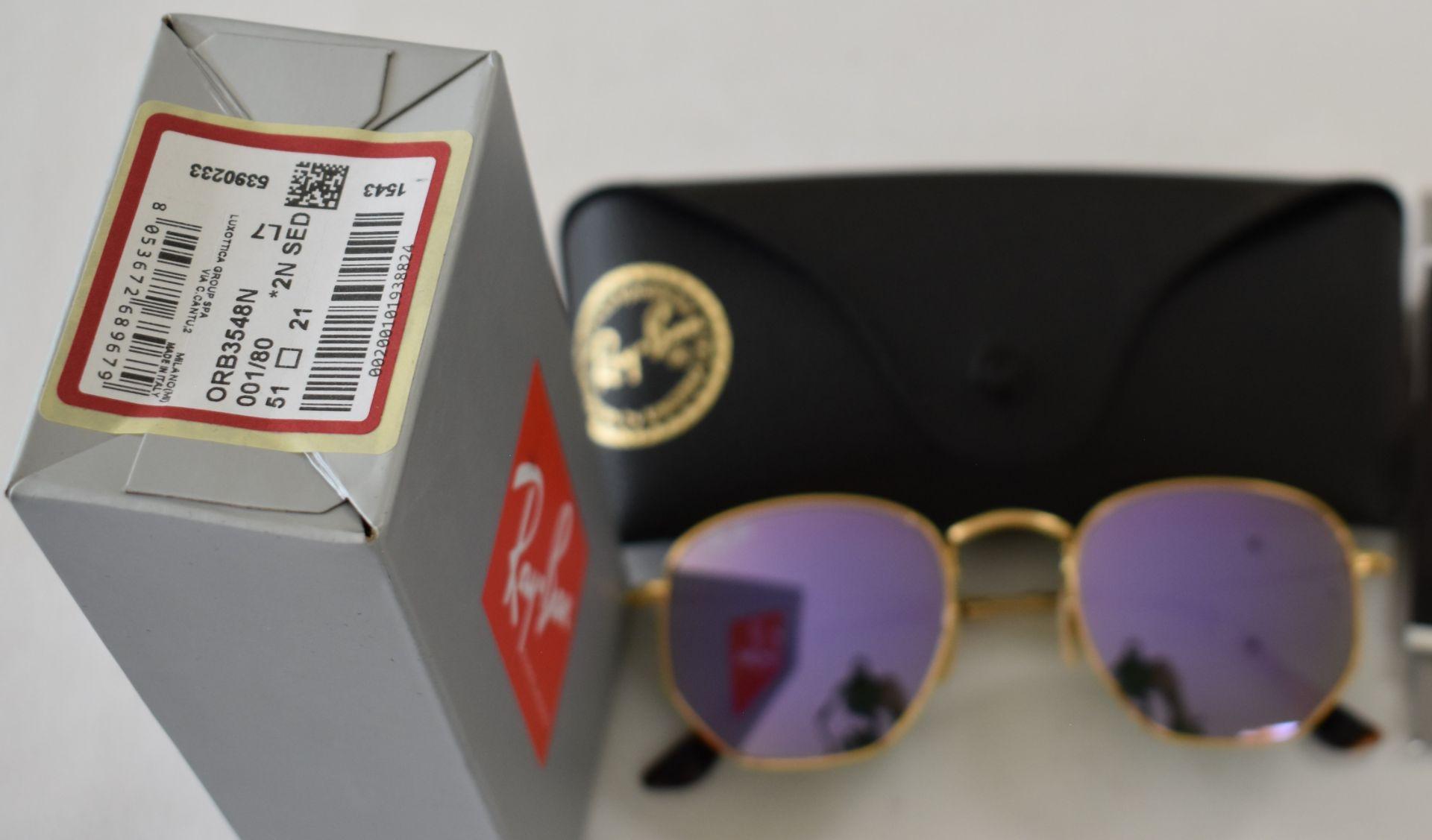 Ray Ban Sunglasses ORB3548N 001/80 *2N - Image 2 of 2