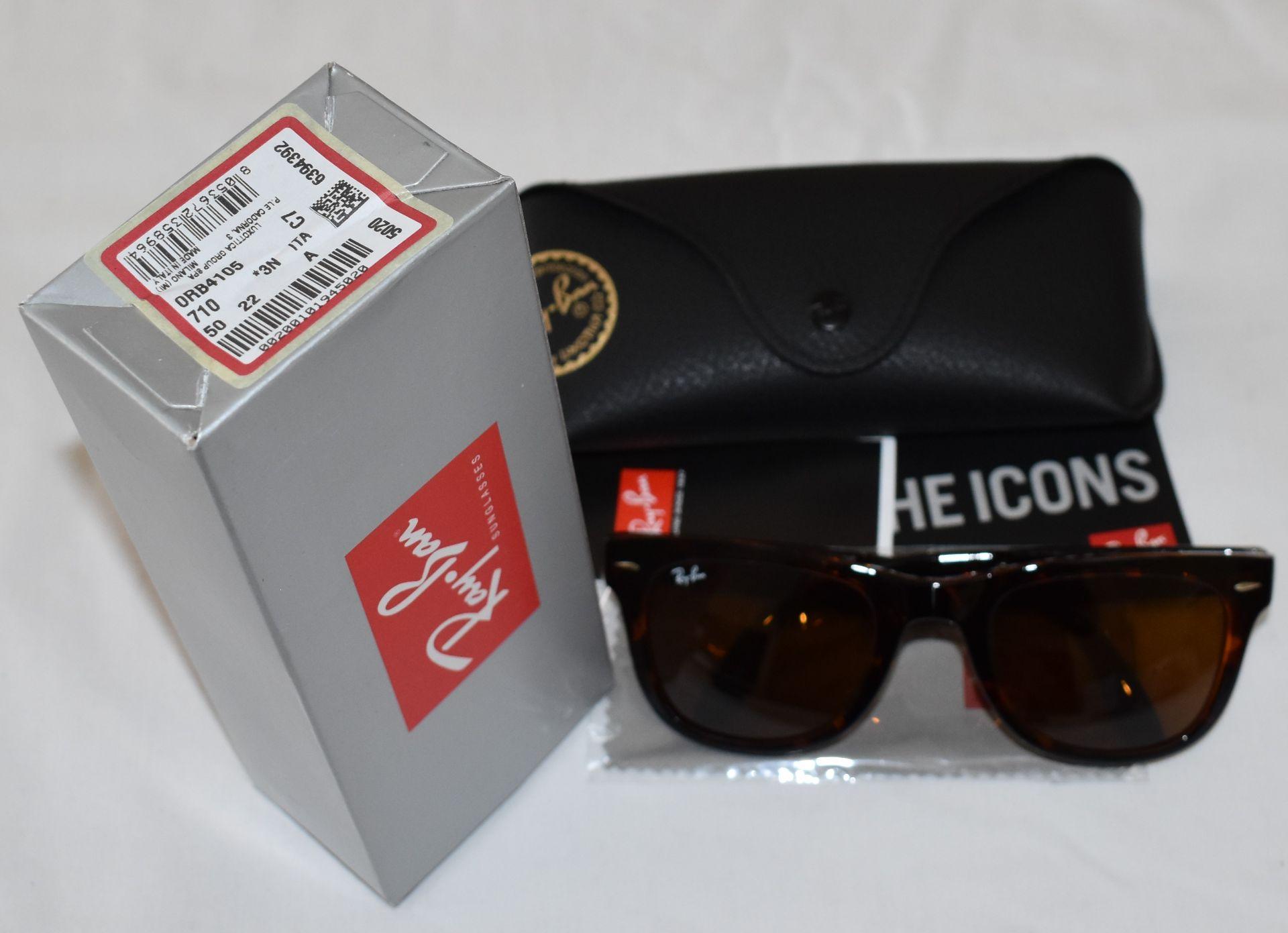 Ray Ban Sunglasses ORB4105 710 *3N - Image 3 of 3