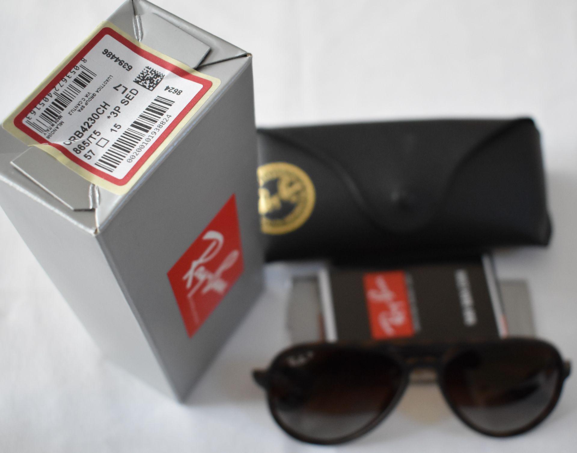 Ray Ban Sunglasses (Ferrari) ORB4320CH 865/T5 *3P - Image 3 of 3