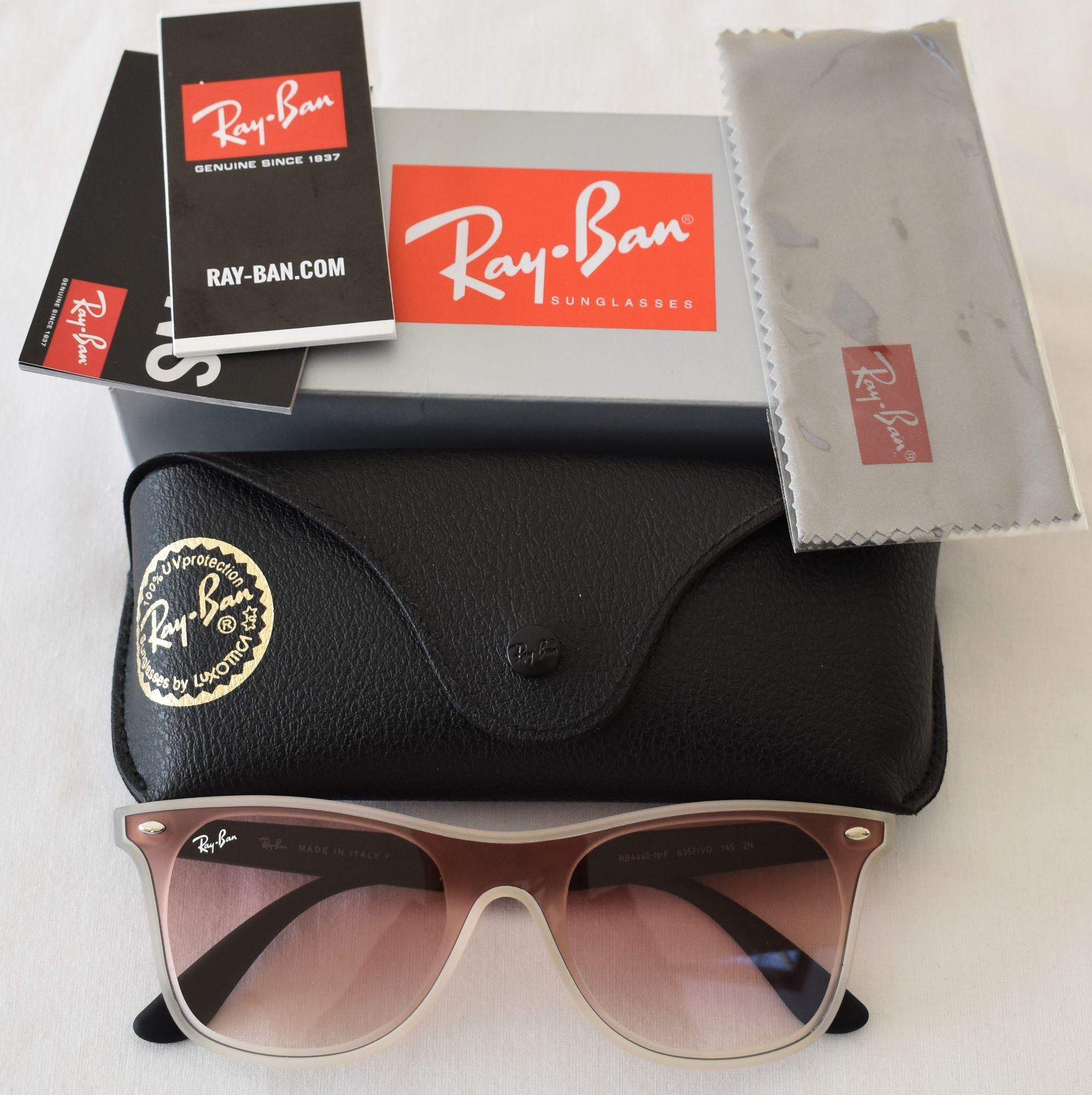 Ray Ban Sunglasses ORB4440 6357/V *3N