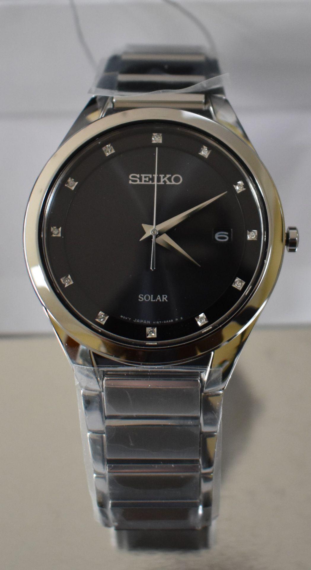 Seiko Men's Watch SNE249P9 - Image 2 of 2