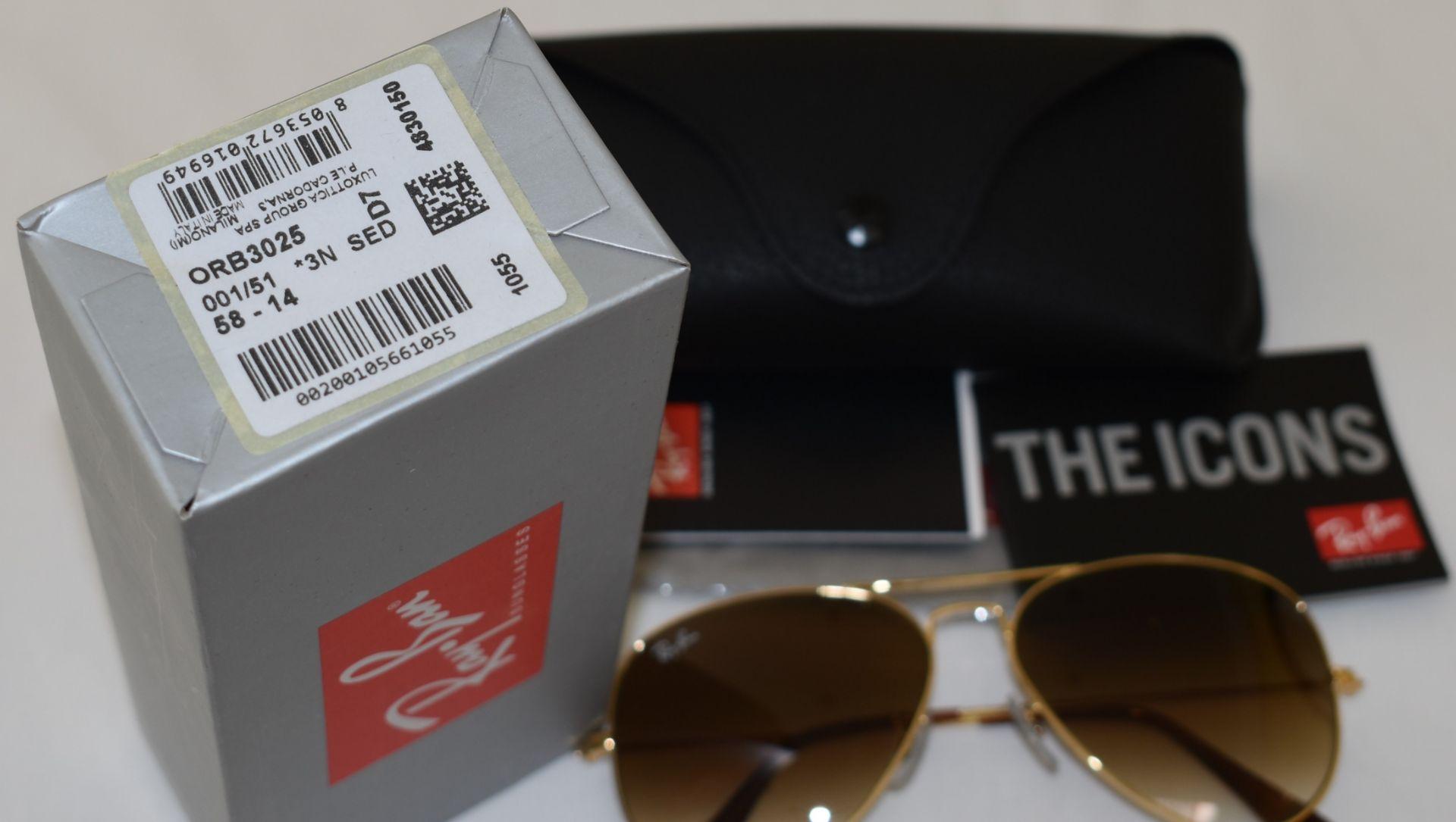 Ray Ban Sunglasses ORB3025 001/51 *3N - Image 2 of 2
