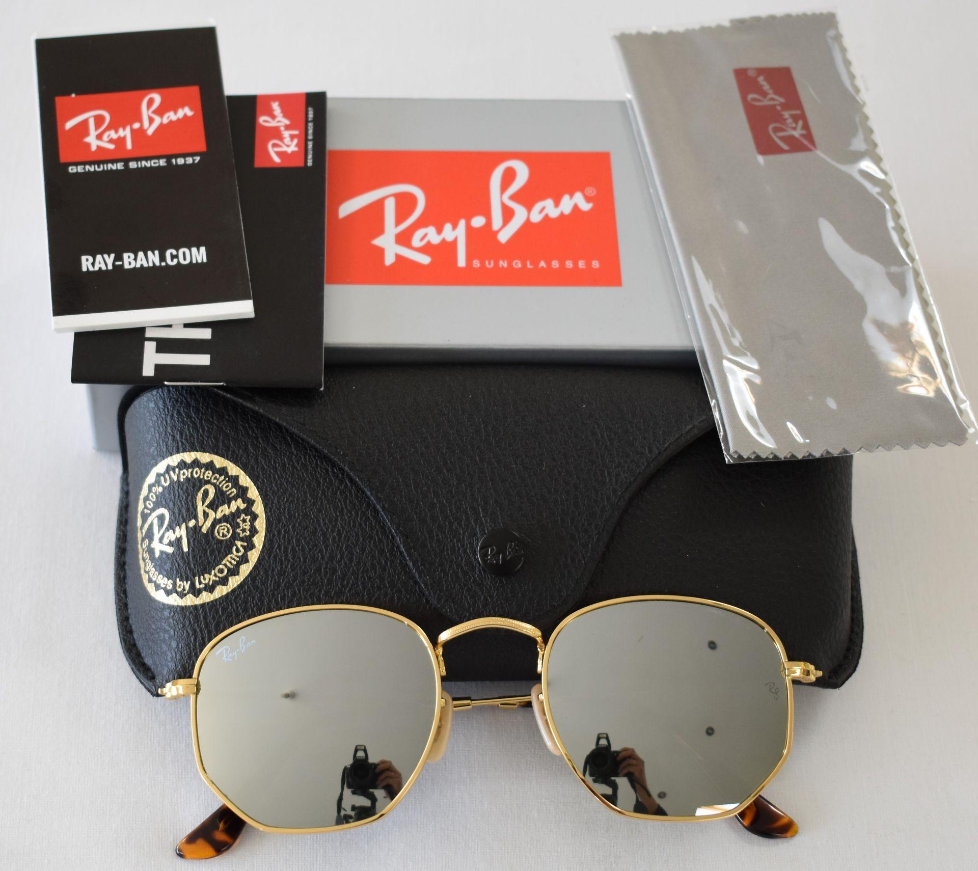 Ray Ban Sunglasses ORB3548N 001/30 *2N - Image 2 of 2
