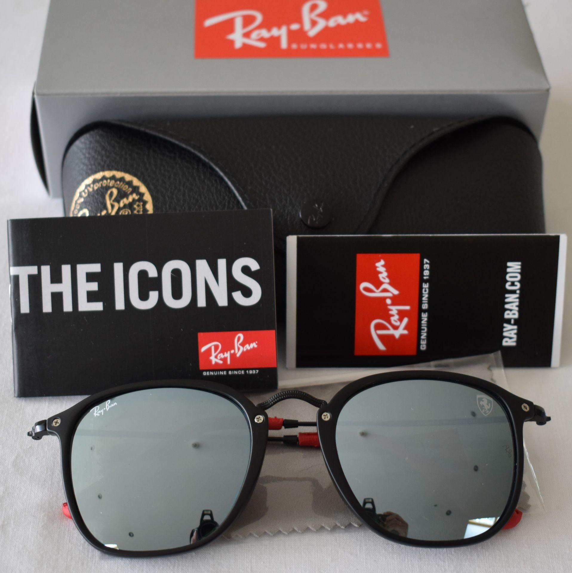 Ray Ban Sunglasses(Ferrari) ORB2448N 614/30 *3N