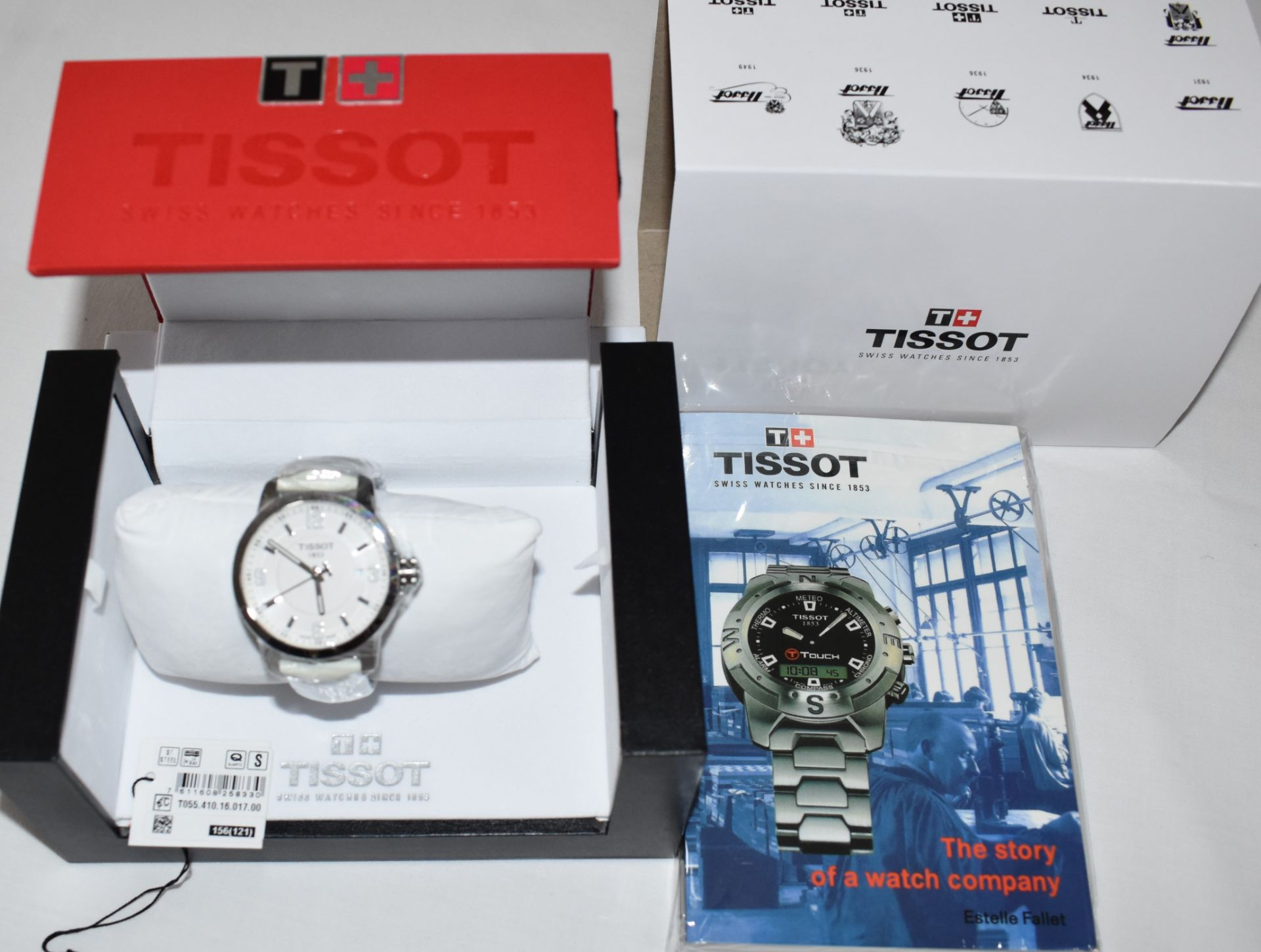 Tissot Men's Watch TO55.410.16.017.00 - Image 3 of 3