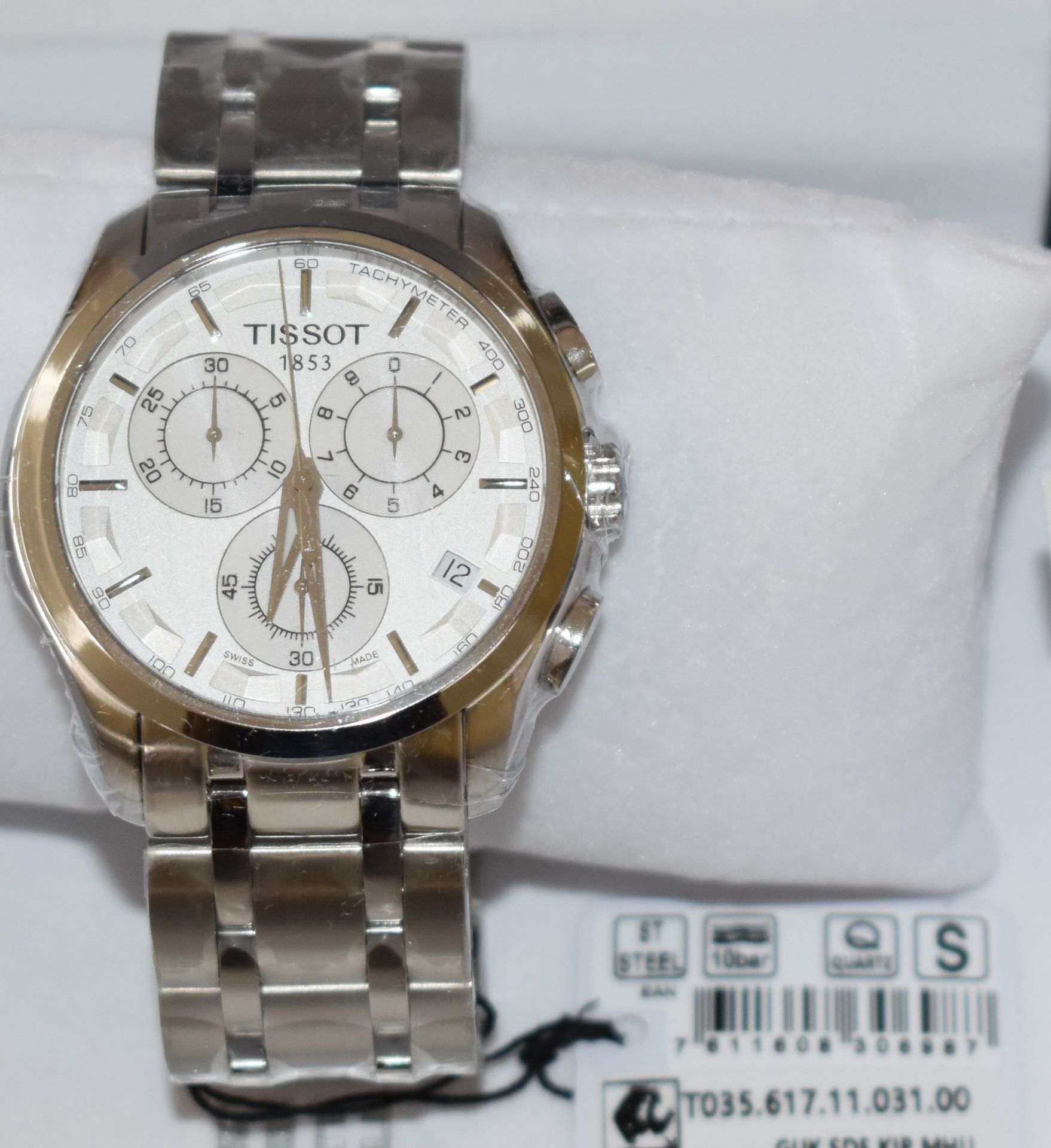 Tissot Men's Watch TO35.617.11.031.00 - Image 2 of 3