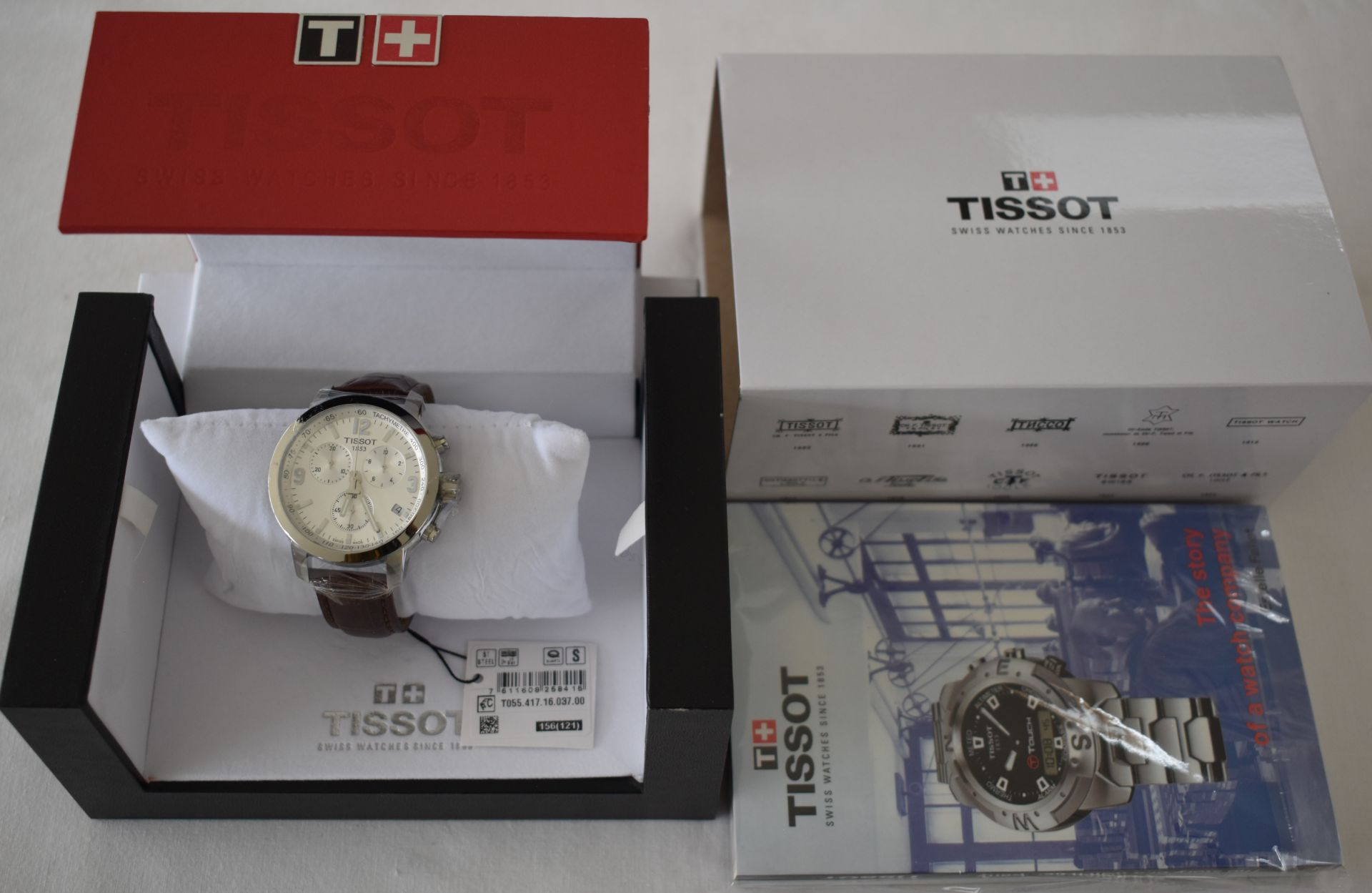 Tissot Men's Watch TO55.417.16.037.00 - Image 3 of 3
