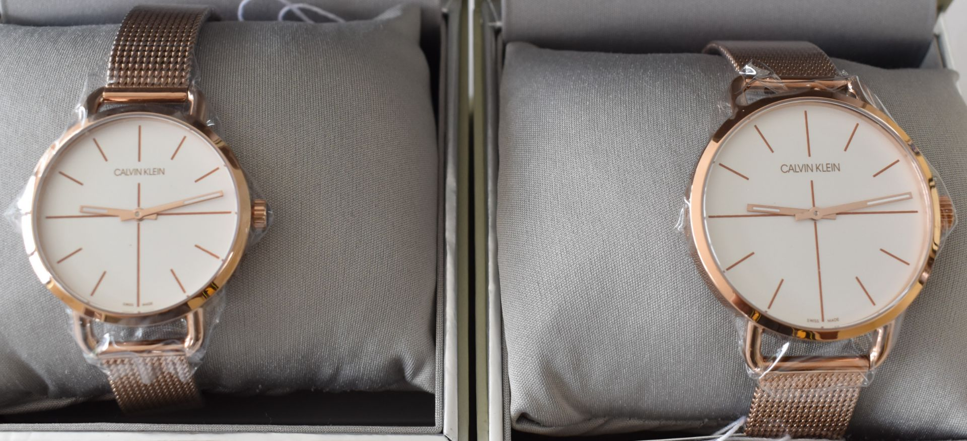 Calvin Klein His/Her K7B21626/K7B23626 Watches - Image 2 of 2