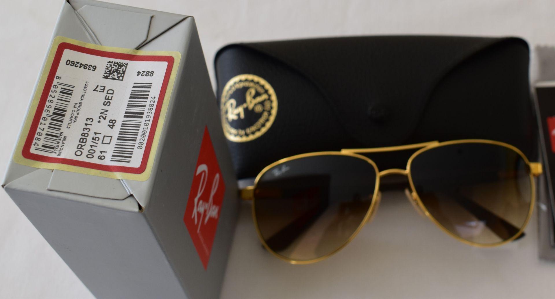 Ray Ban Sunglasses ORB8313 001/51 *2N - Image 2 of 2
