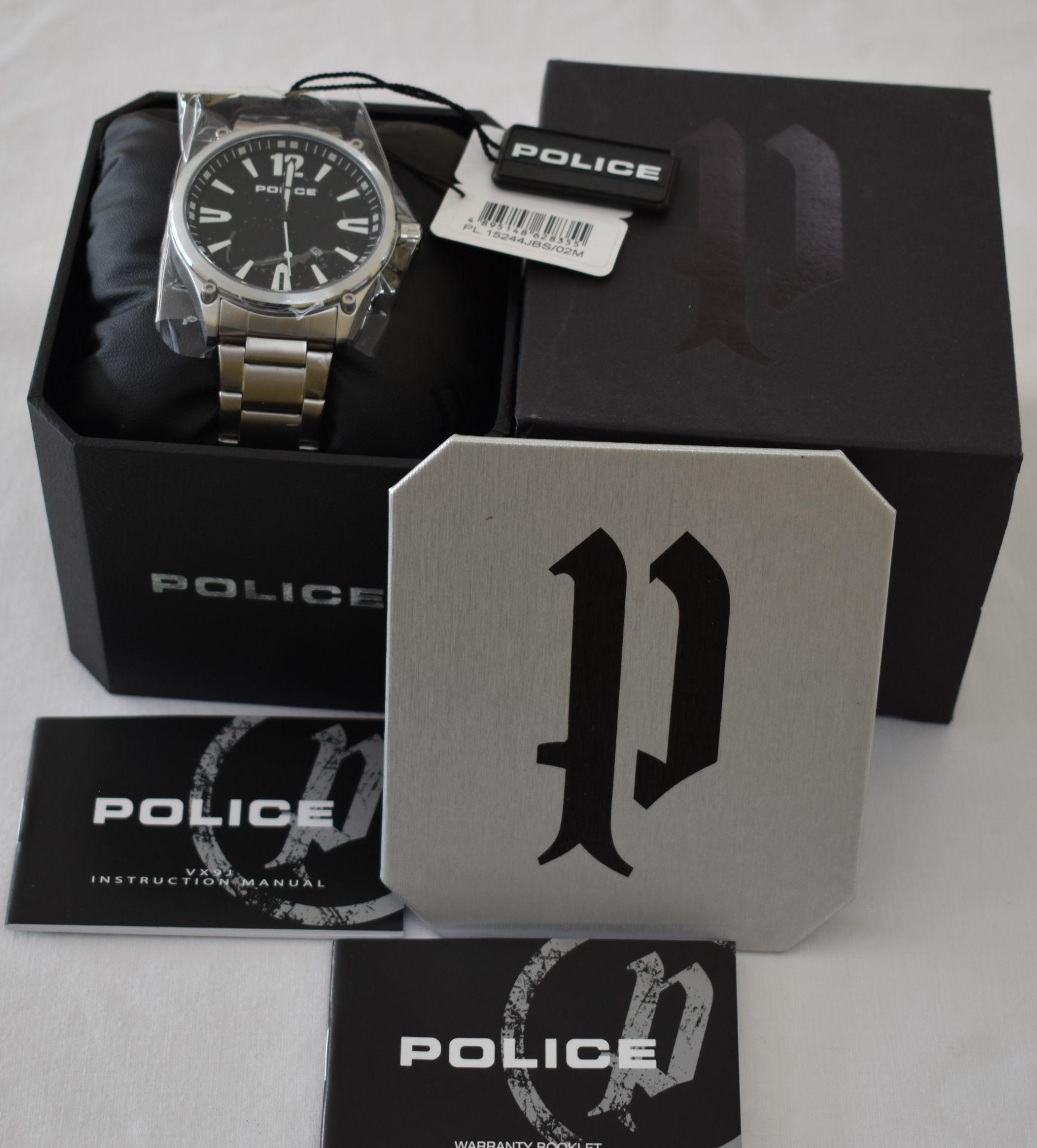 Police PL.15244JBS/02M Men's Watch