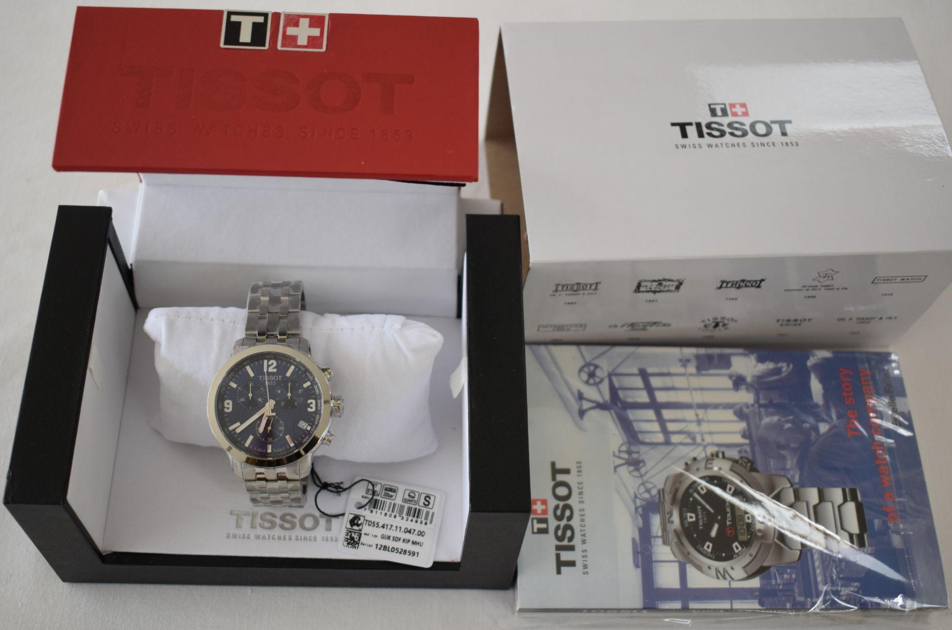 Tissot Men's Watch TO55.417.11.047.00