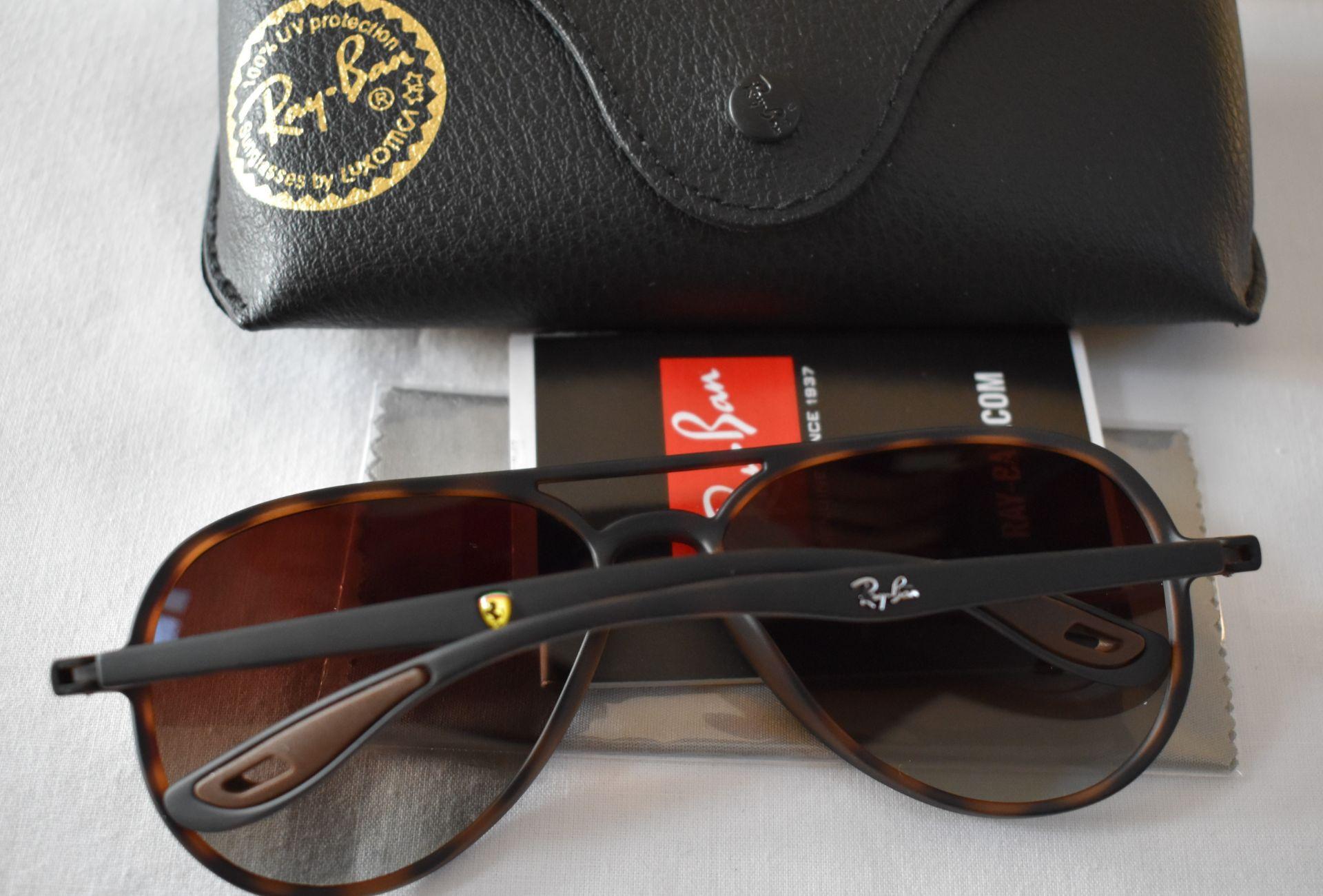Ray Ban Sunglasses (Ferrari) ORB4320CH 865/T5 *3P - Image 2 of 3