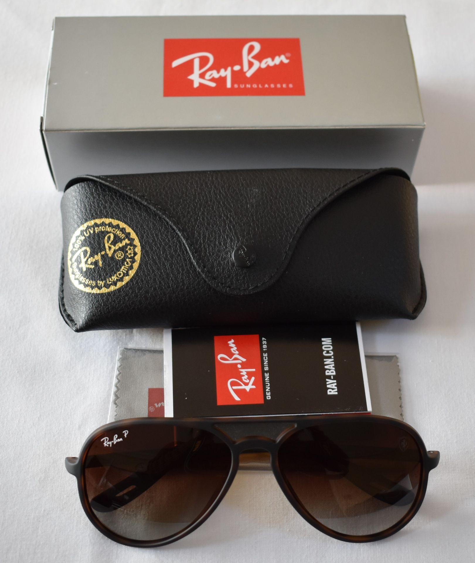 Ray Ban Sunglasses (Ferrari) ORB4320CH 865/T5 *3P