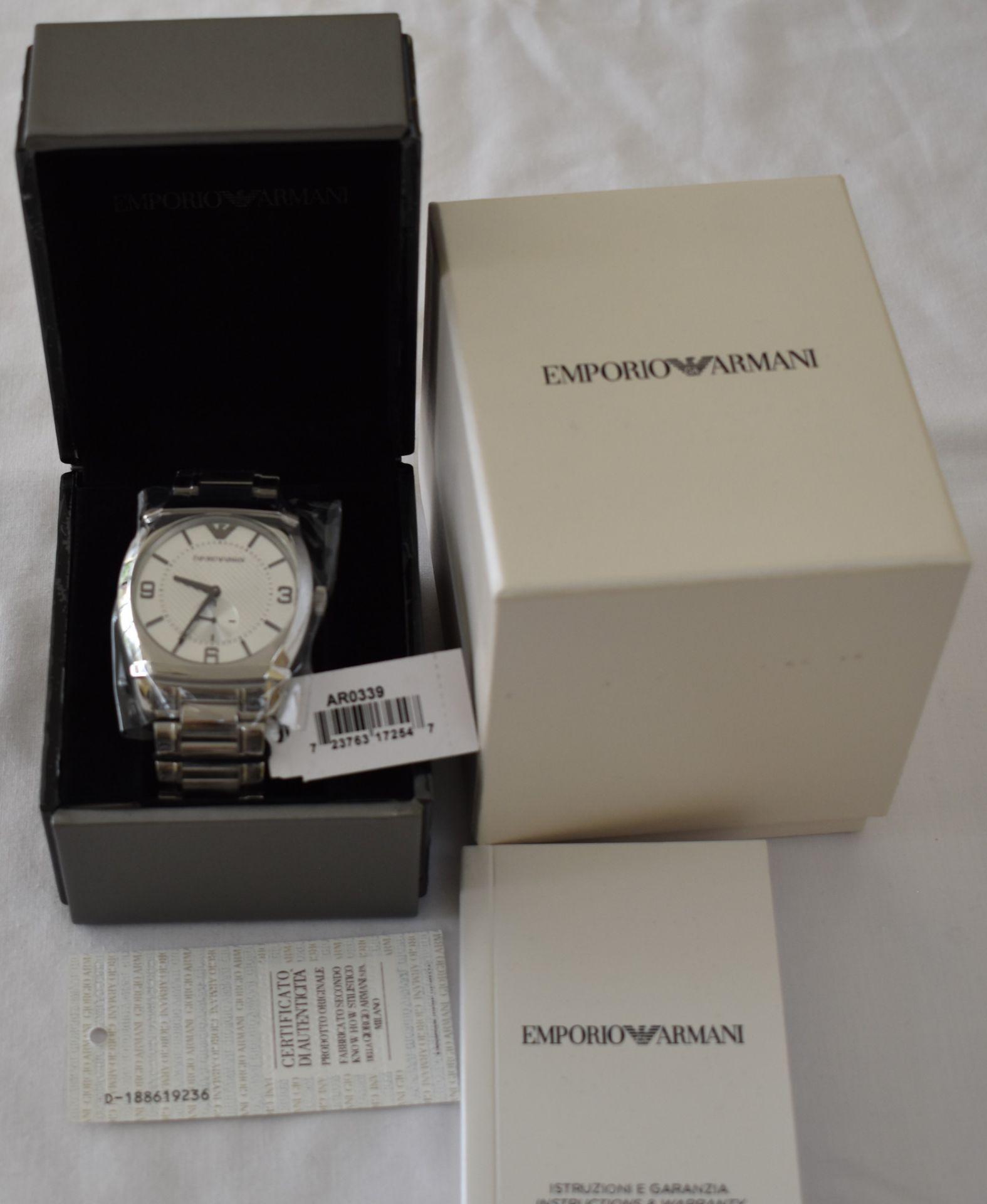 Emporio Armani AR0339 Men's Watch