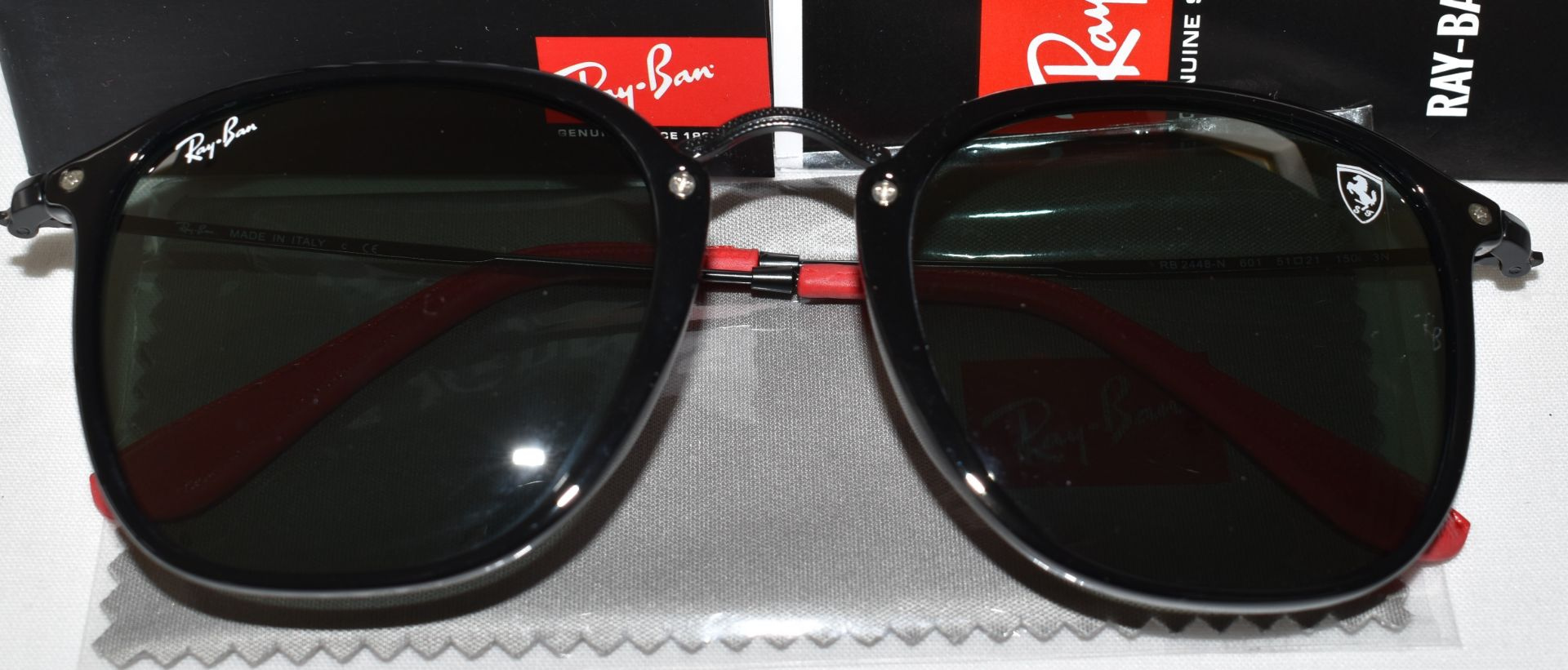 Ray Ban Sunglasses(Ferrari) ORB2448N 601 *3N - Image 2 of 4