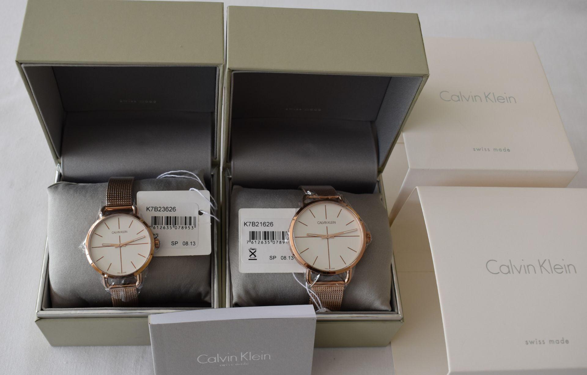 Calvin Klein His/Her K7B21626/K7B23626 Watches