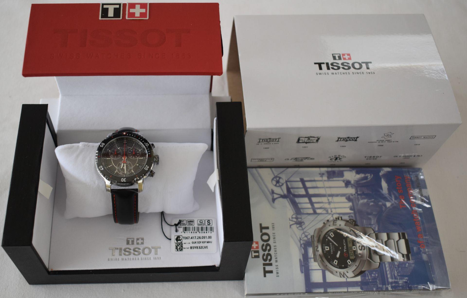 Tissot Men's watch TO67.417.26.051.00 - Image 3 of 3
