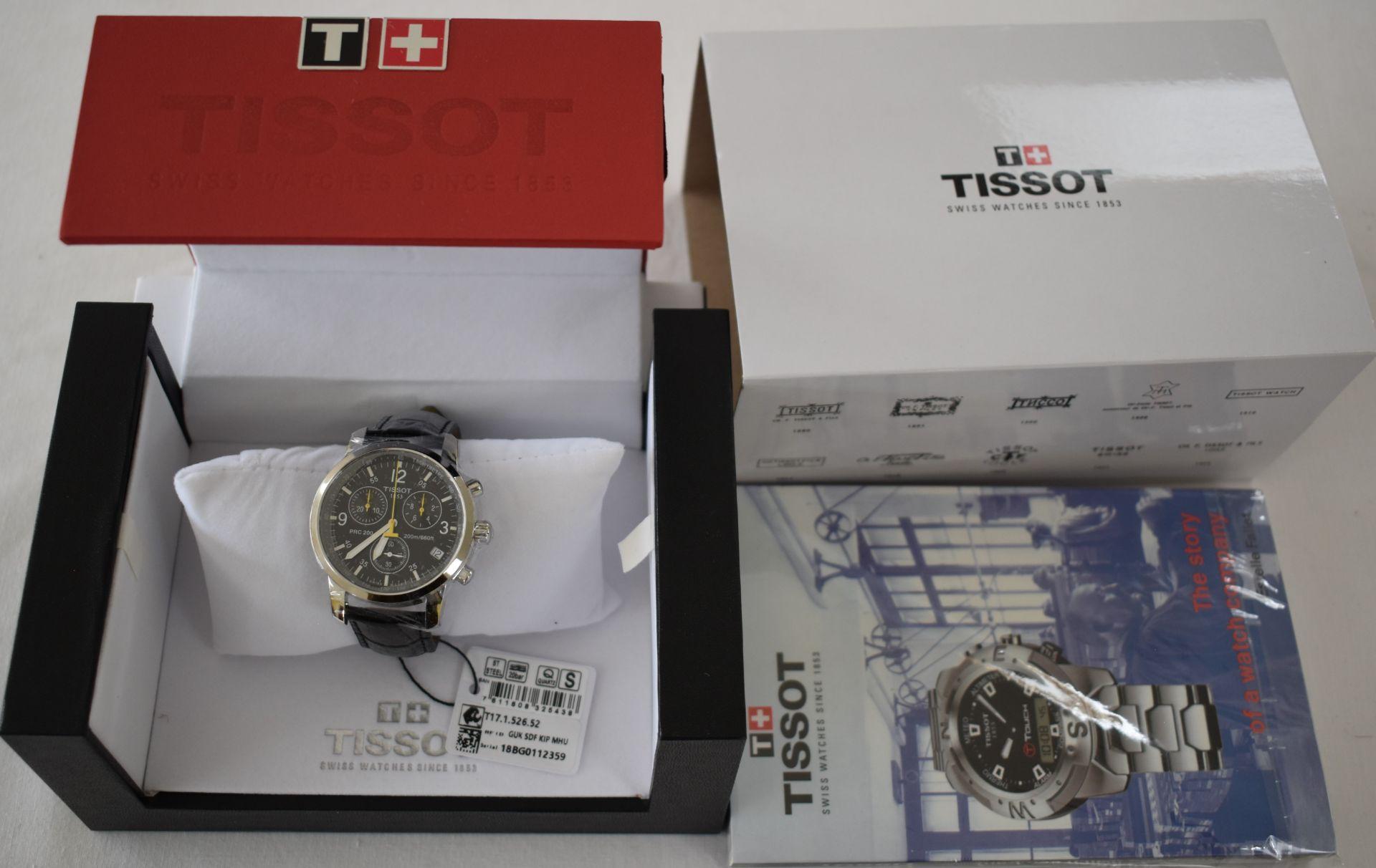 Tissot Men's Watch T17.526.52 - Image 3 of 3
