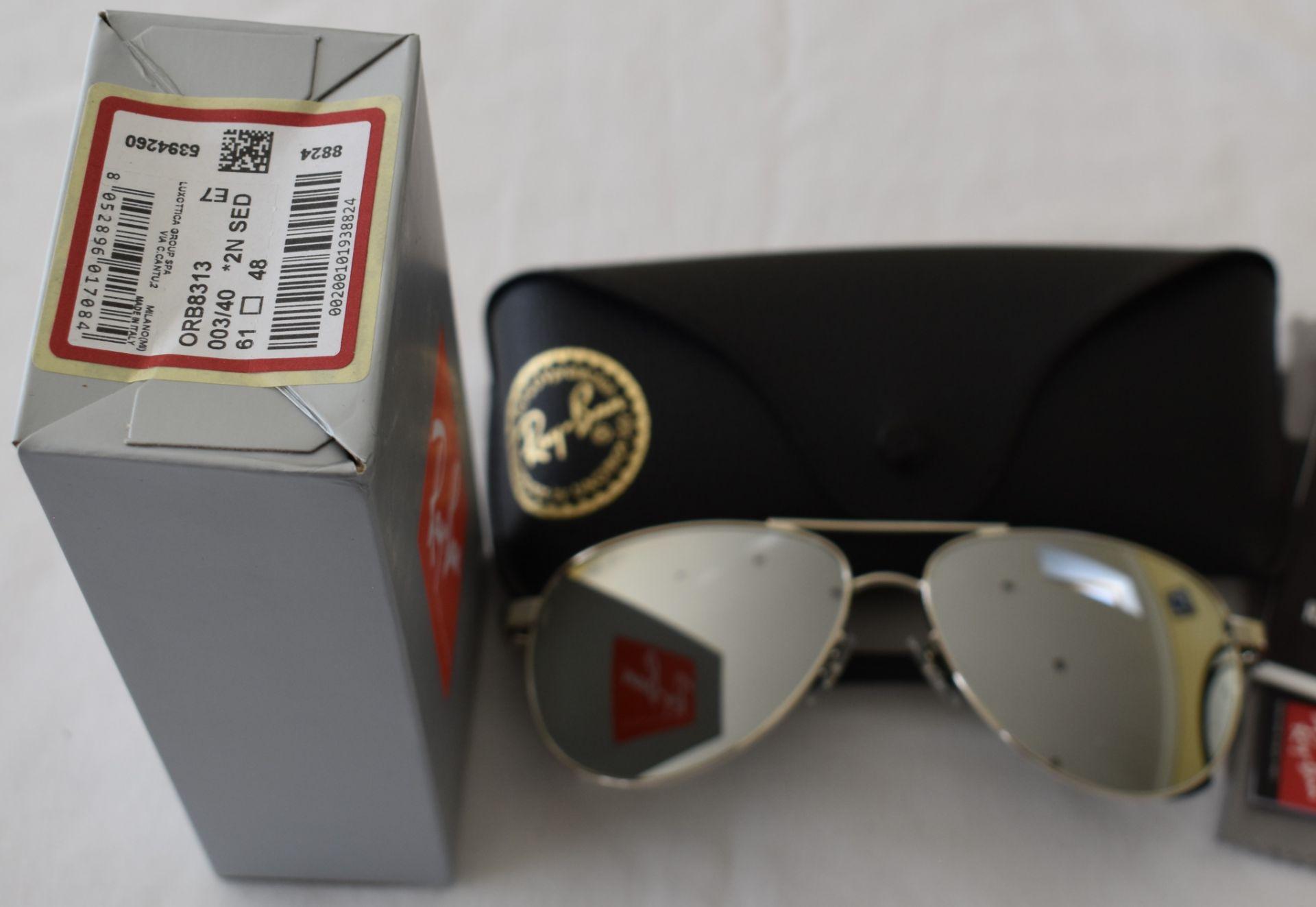 Ray Ban Sunglasses ORB8313 003/40 *2N - Image 2 of 2