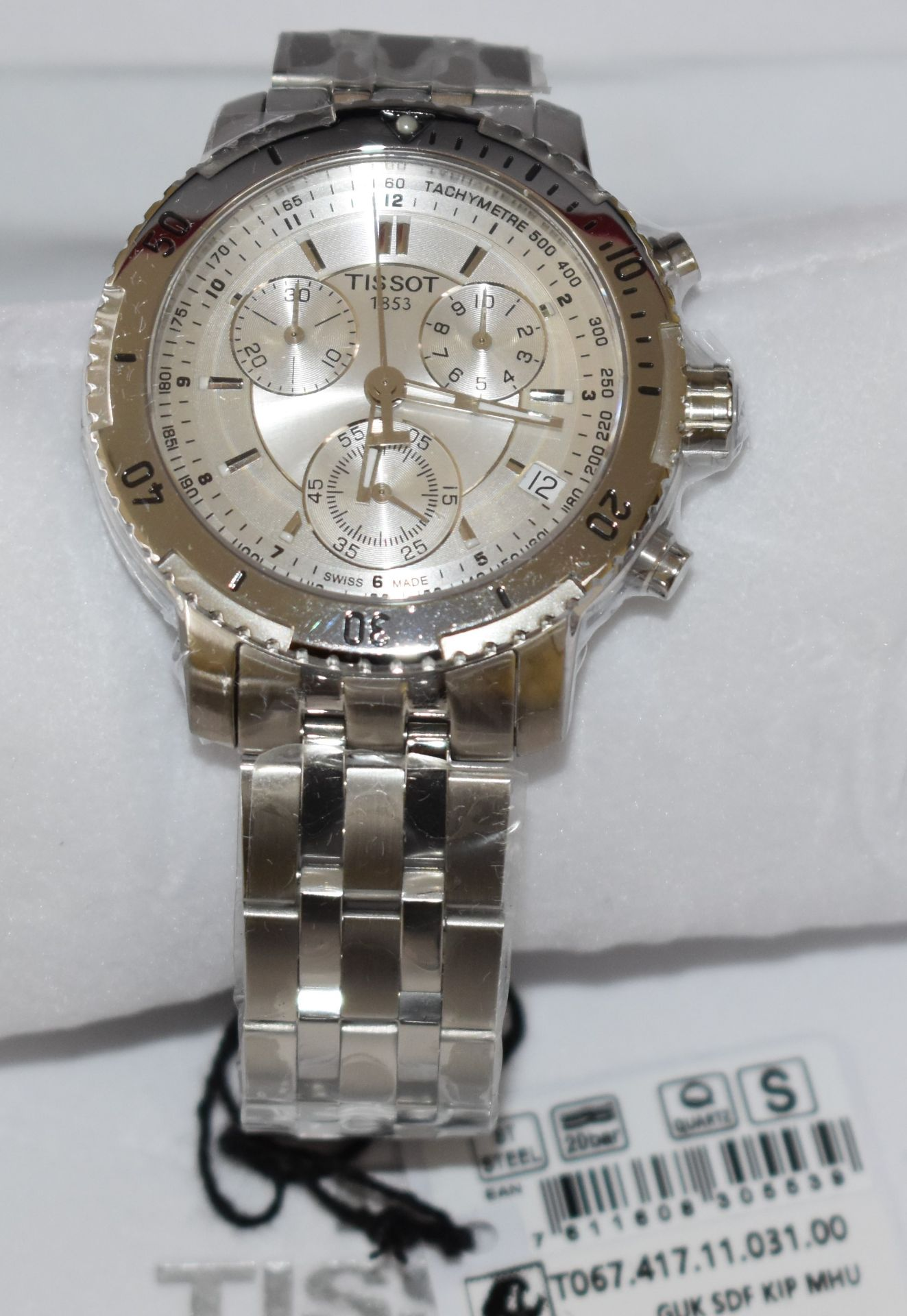 Tissot Men's Watch TO67.417.11.31.00 - Image 2 of 3