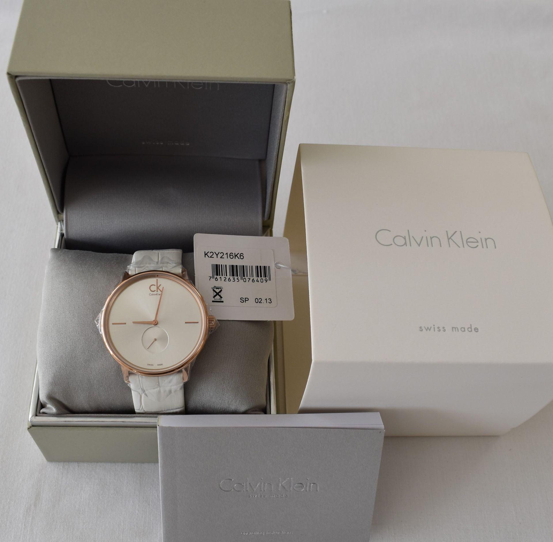 Calvin Klein K2Y216K6 Ladies Watch
