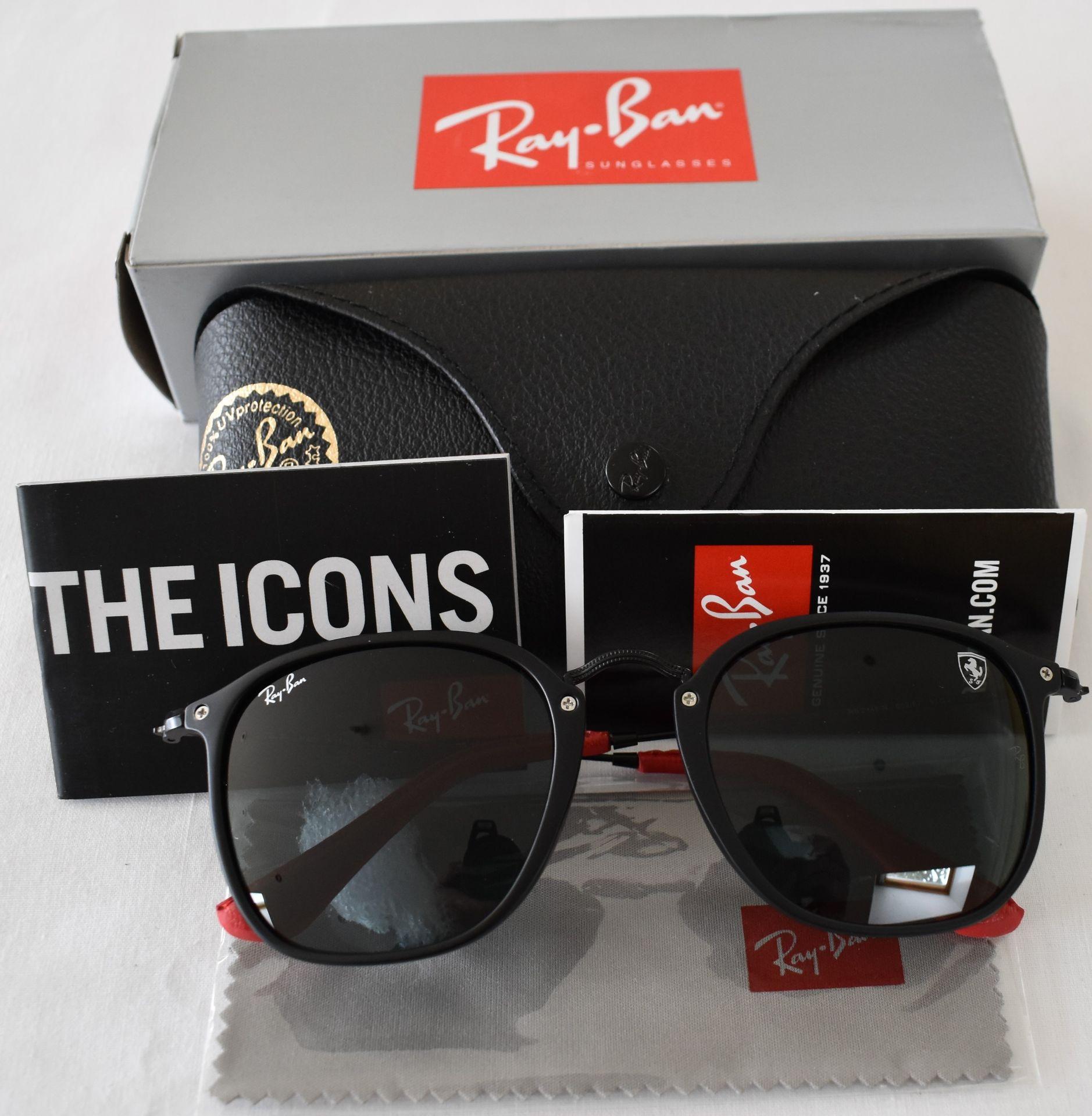 Ray Ban Sunglasses(Ferrari) ORB2448N 602/87 *3N