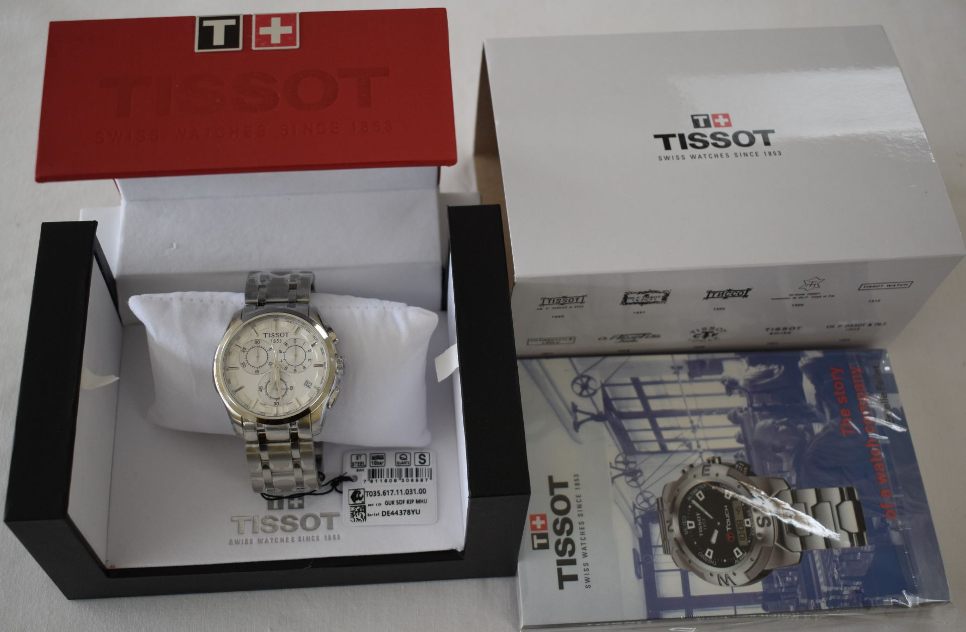 Tissot Men's Watch TO35.617.11.031.00 - Image 3 of 3
