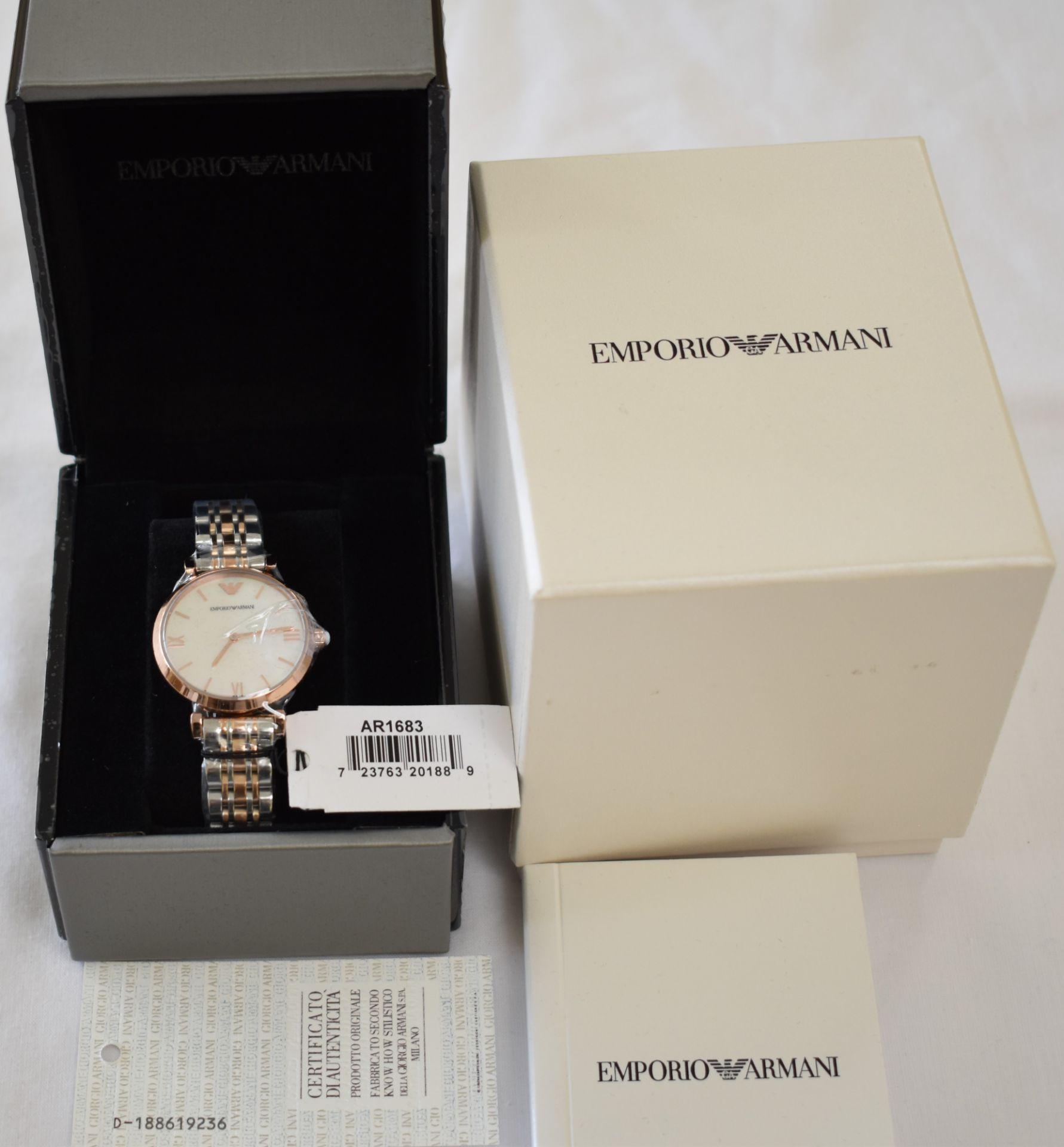 Emporio Armani AR1683 Ladies Watch