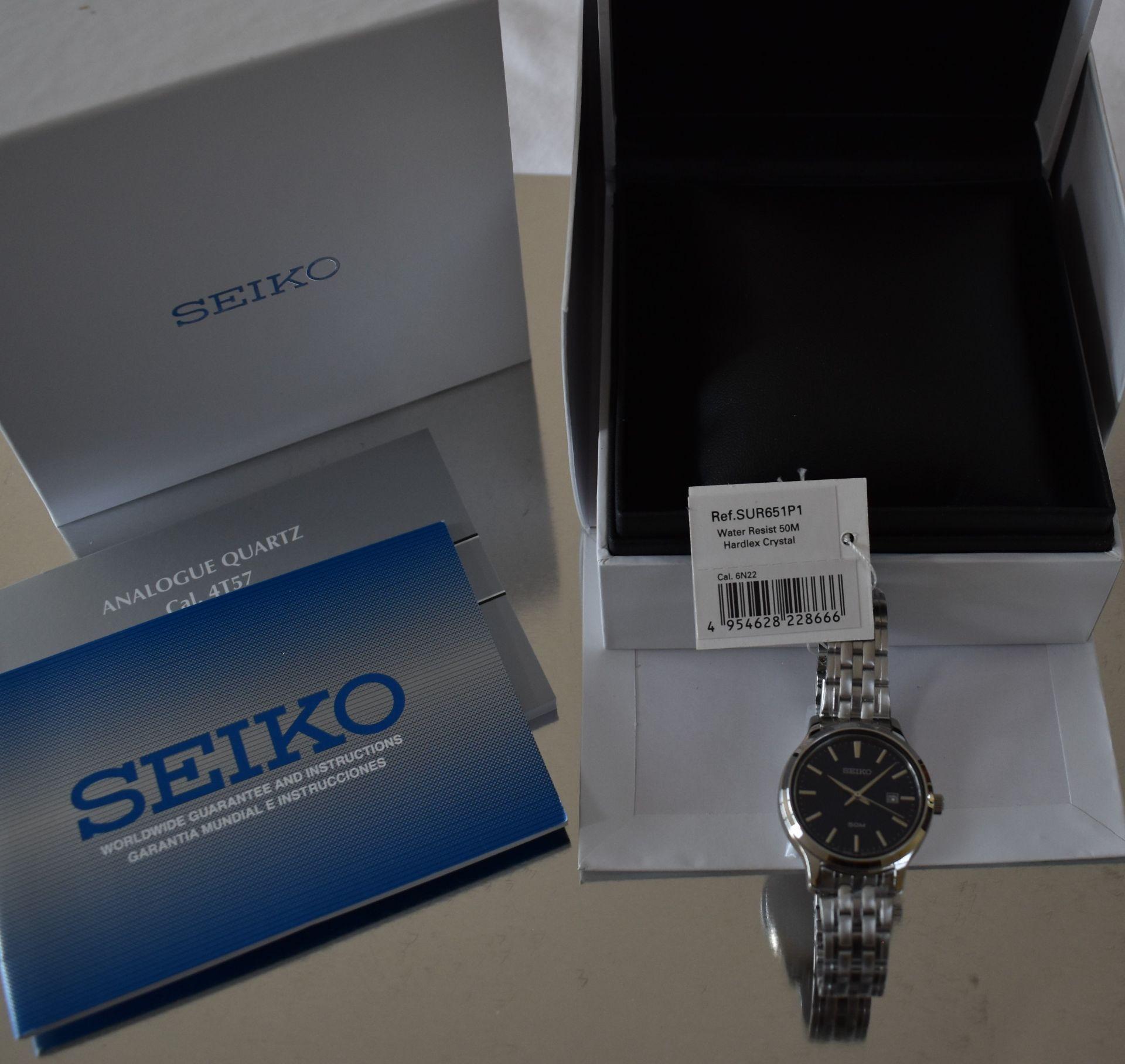 Seiko Ladies Watch SUR651P1 - Image 3 of 3