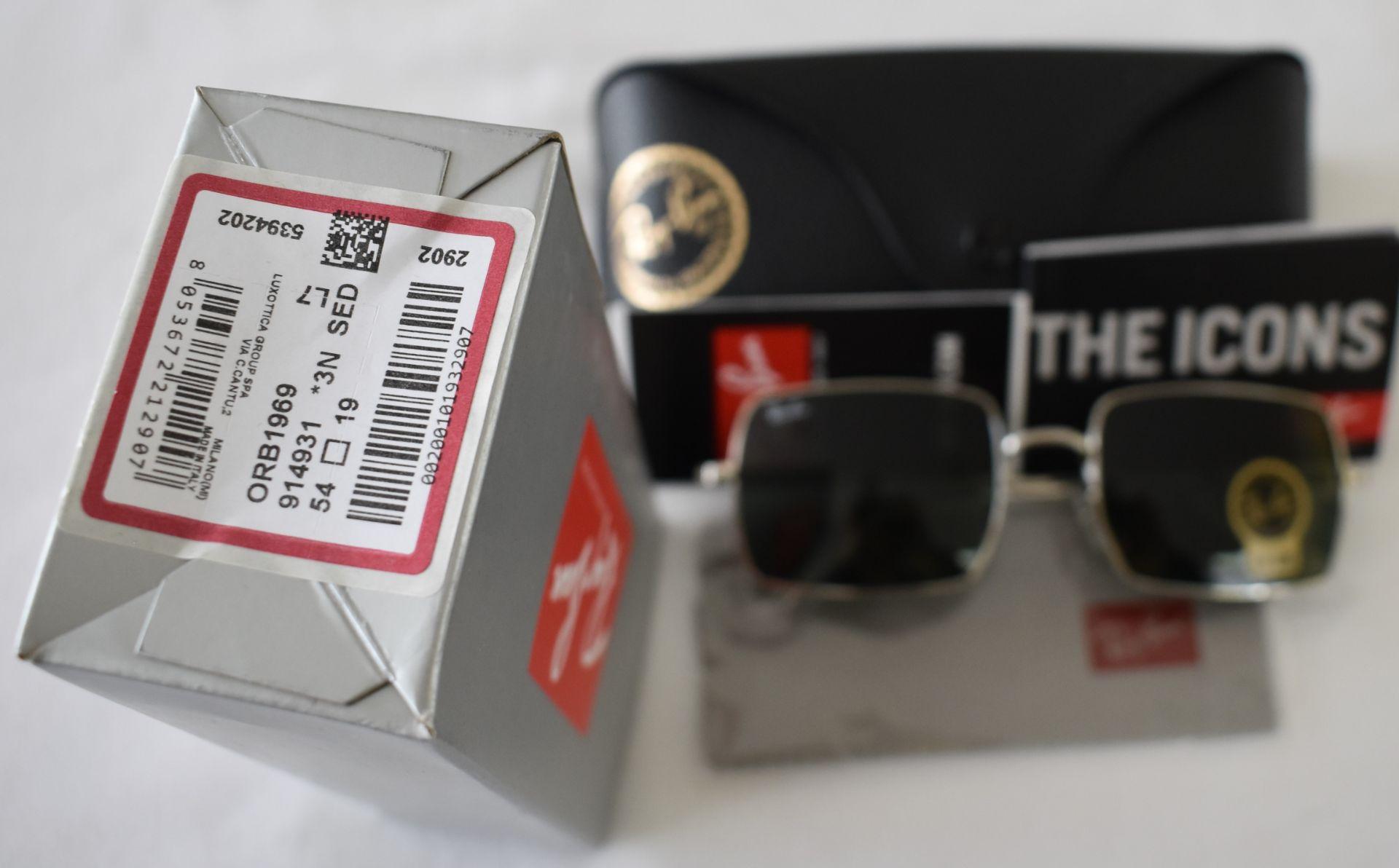 Ray Ban Sunglasses ORB1969 914931 *3N - Image 2 of 2