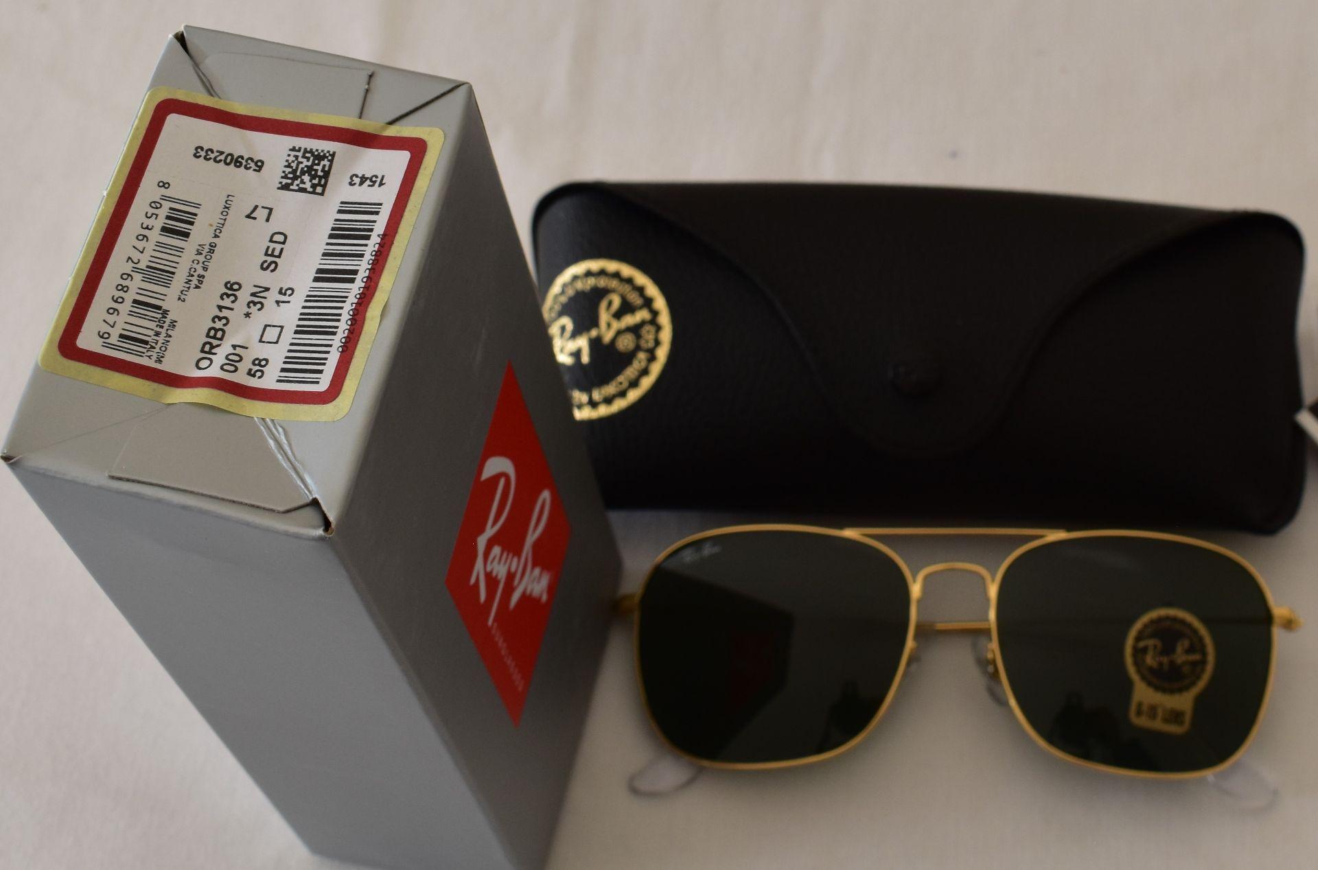 Ray Ban Sunglasses ORB3136 001 *3N - Image 2 of 2